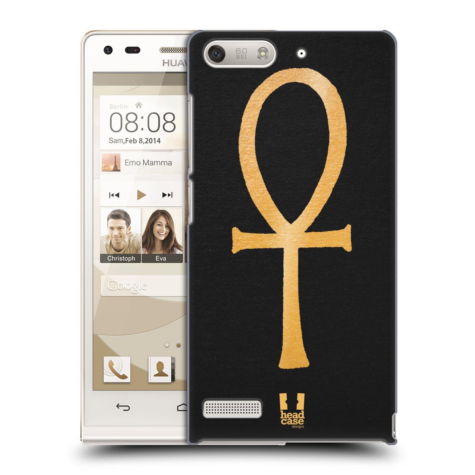 Plastové pouzdro na mobil Huawei Ascend G6 HEAD CASE EGYPT ANKH NILSKÝ KŘÍŽ (Kryt či obal na mobilní telefon Huawei Ascend G6 bez LTE)