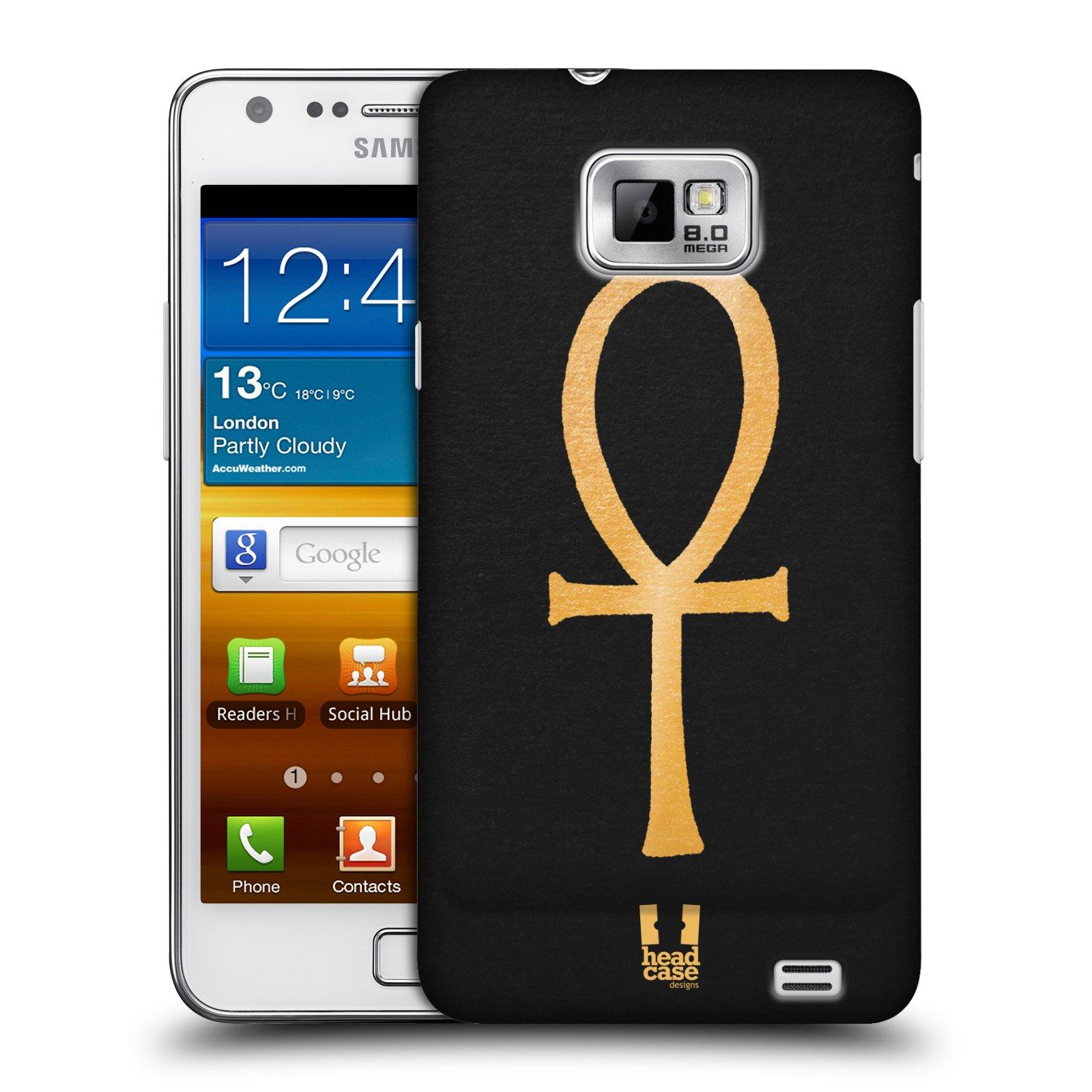 Plastové pouzdro na mobil Samsung Galaxy S II HEAD CASE EGYPT ANKH NILSKÝ KŘÍŽ (Kryt či obal na mobilní telefon Samsung Galaxy S II GT-i9100)
