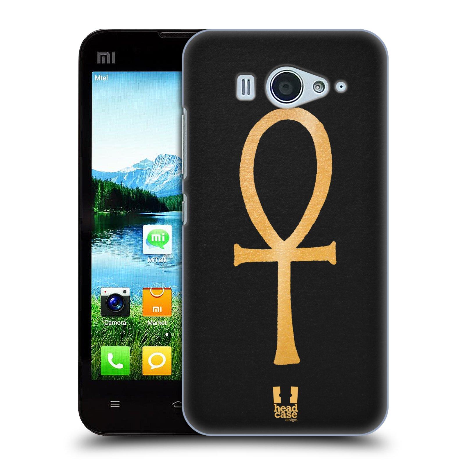 Plastové pouzdro na mobil Xiaomi Mi2S HEAD CASE EGYPT ANKH NILSKÝ KŘÍŽ (Kryt či obal na mobilní telefon Xiaomi Mi2S)