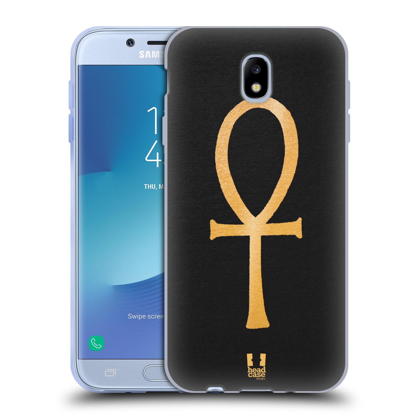 Silikonové pouzdro na mobil Samsung Galaxy J7 (2017) - Head Case - EGYPT ANKH NILSKÝ KŘÍŽ (Silikonový kryt či obal na mobilní telefon Samsung Galaxy J7 2017 SM-J730F/DS s motivem EGYPT ANKH NILSKÝ KŘÍŽ)