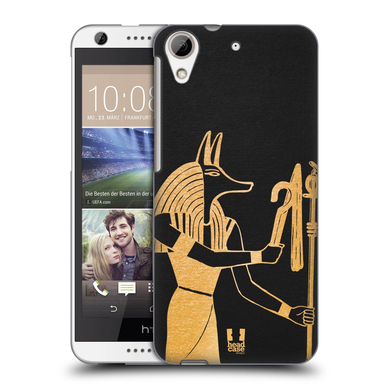 Plastové pouzdro na mobil HTC Desire 626 / 626G HEAD CASE EGYPT ANUBIS (Kryt či obal na mobilní telefon HTC Desire 626G Dual SIM a HTC Desire 626)