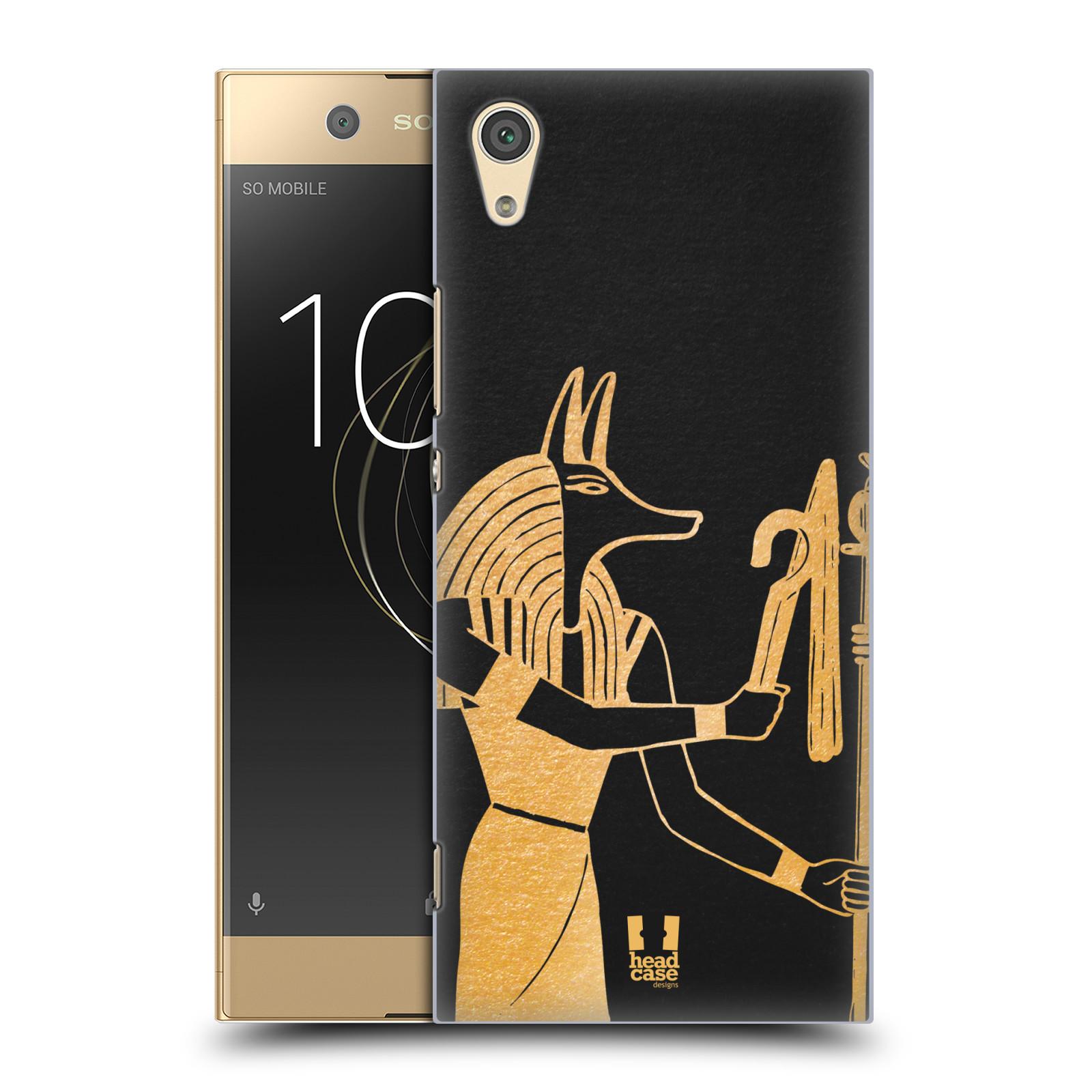 Plastové pouzdro na mobil Sony Xperia XA1 - Head Case - EGYPT ANUBIS (Plastový kryt či obal na mobilní telefon Sony Xperia XA1 G3121 s motivem EGYPT ANUBIS)