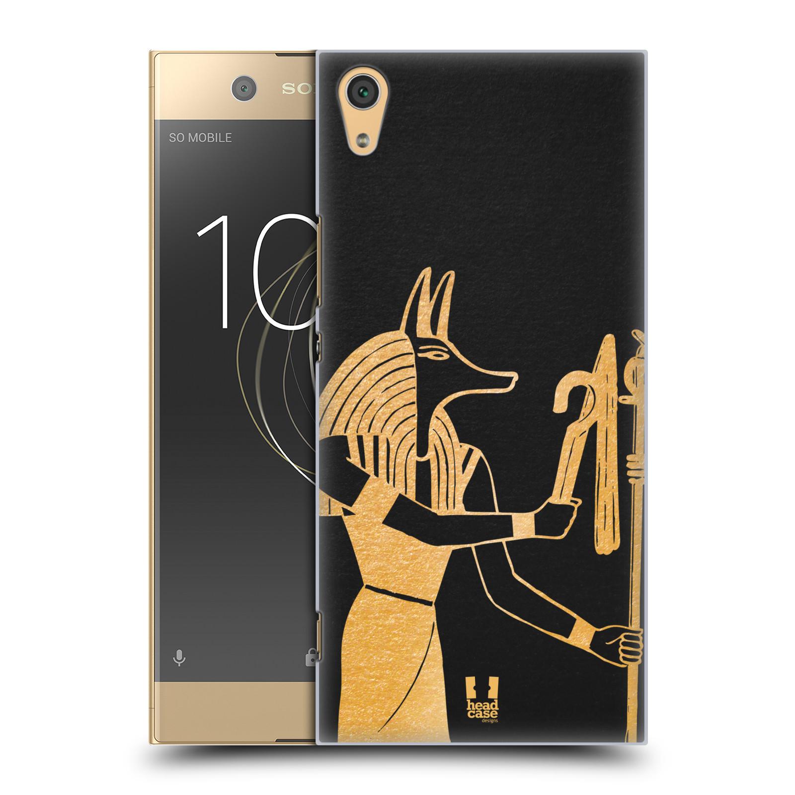 Plastové pouzdro na mobil Sony Xperia XA1 Ultra - Head Case - EGYPT ANUBIS