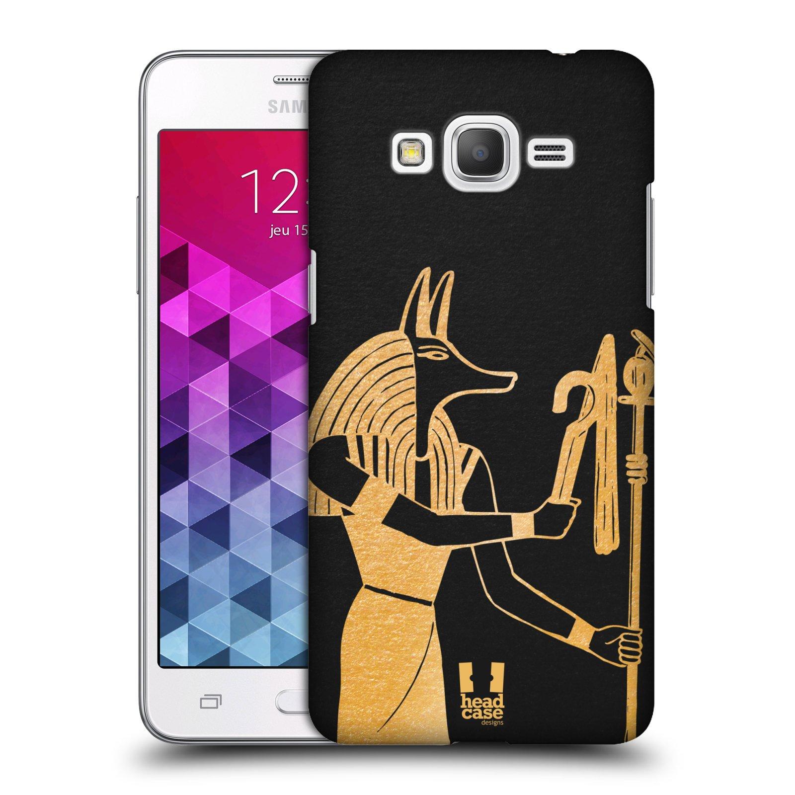 Plastové pouzdro na mobil Samsung Galaxy Grand Prime HEAD CASE EGYPT ANUBIS (Kryt či obal na mobilní telefon Samsung Galaxy Grand Prime SM-G530)