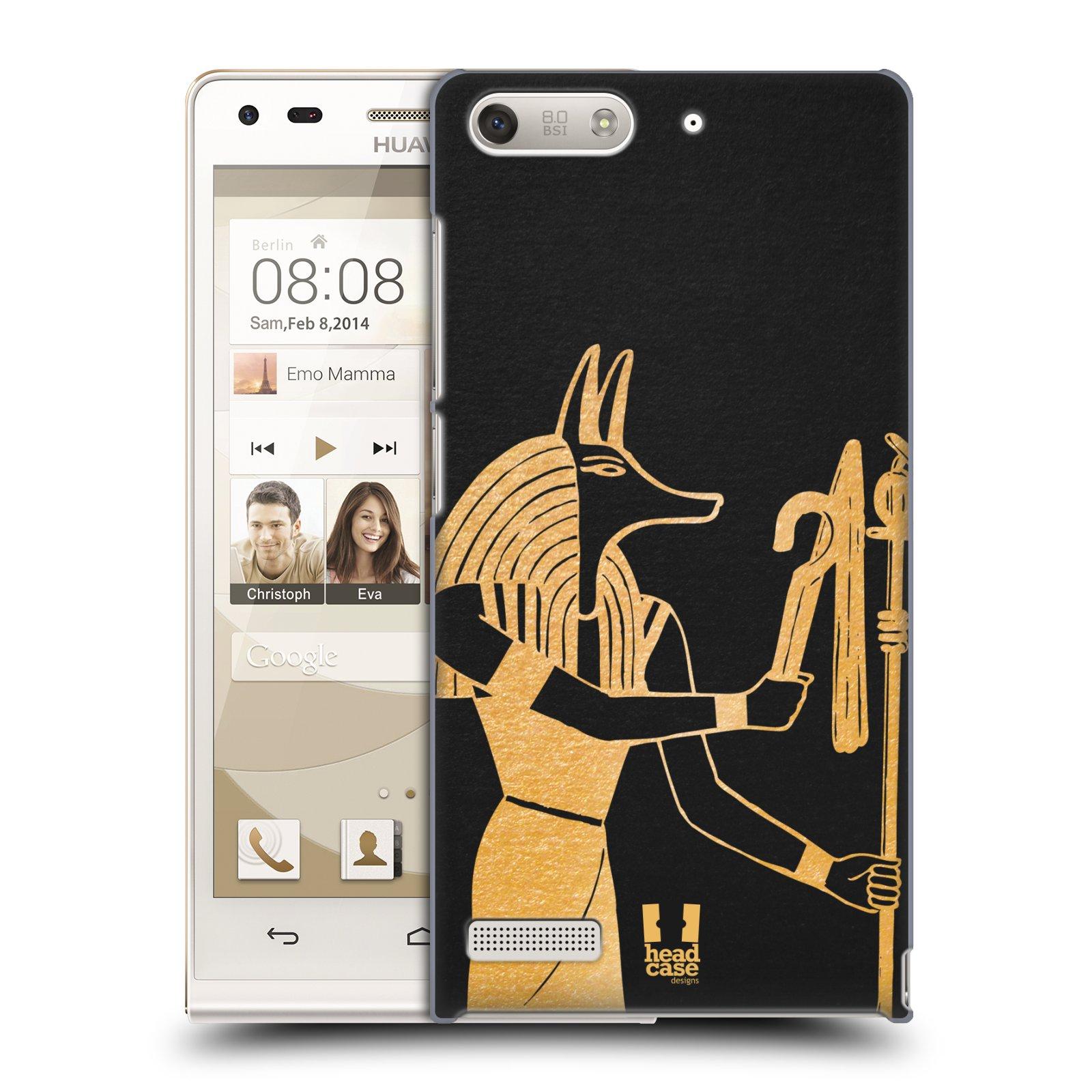 Plastové pouzdro na mobil Huawei Ascend G6 HEAD CASE EGYPT ANUBIS (Kryt či obal na mobilní telefon Huawei Ascend G6 bez LTE)
