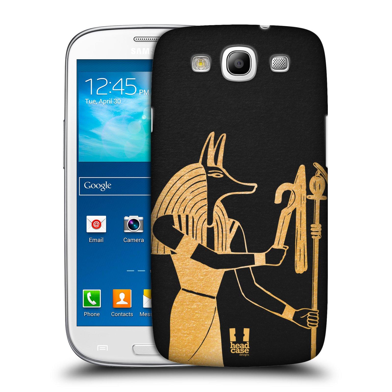 Plastové pouzdro na mobil Samsung Galaxy S3 Neo HEAD CASE EGYPT ANUBIS