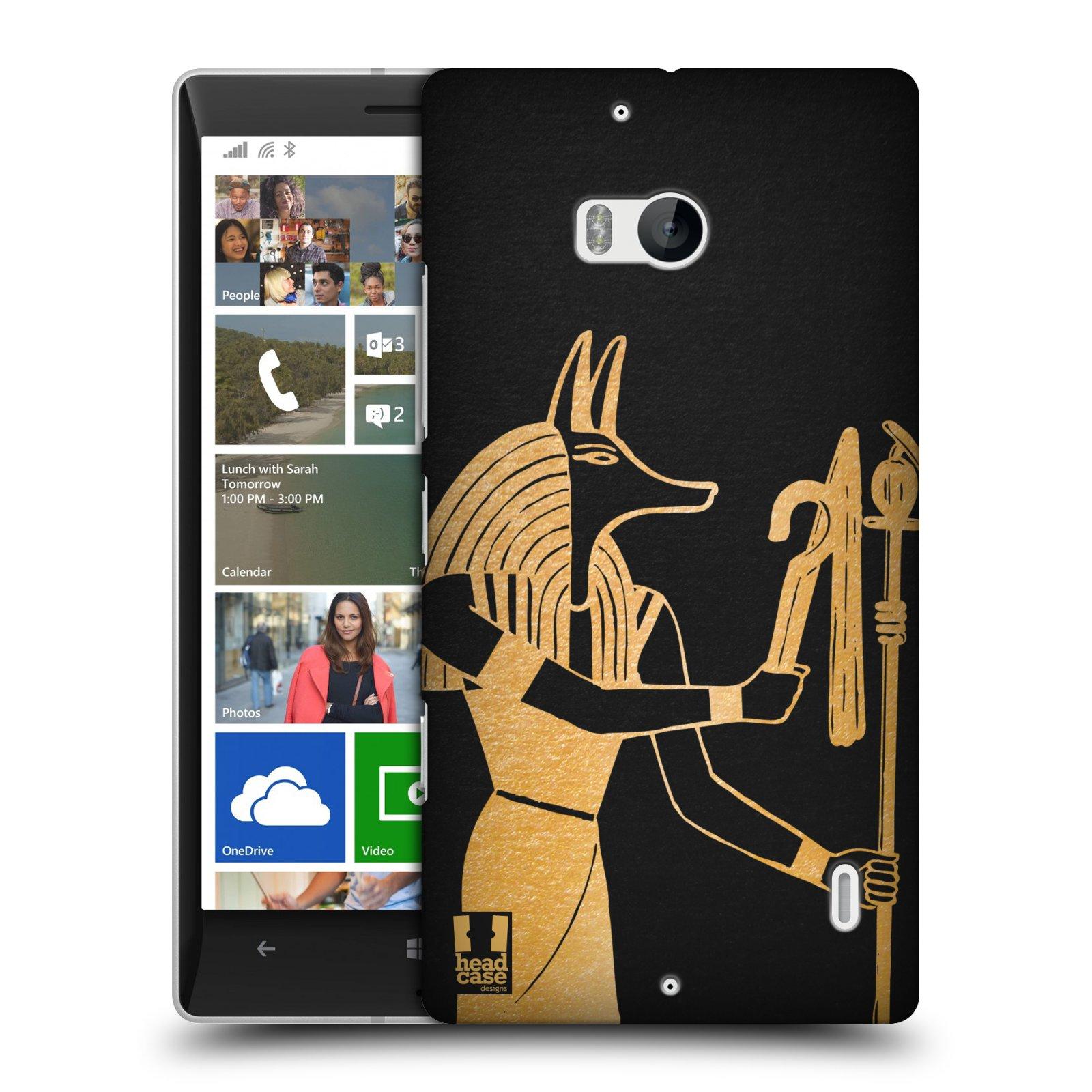 Plastové pouzdro na mobil Nokia Lumia 930 HEAD CASE EGYPT ANUBIS (Kryt či obal na mobilní telefon Nokia Lumia 930)