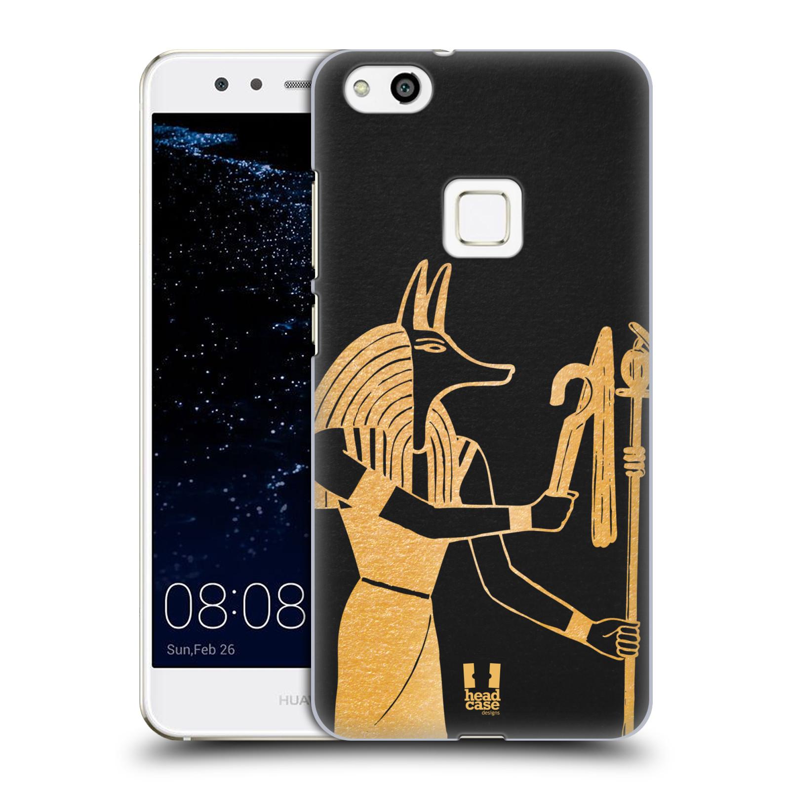 Plastové pouzdro na mobil Huawei P10 Lite Head Case - EGYPT ANUBIS (Plastový kryt či obal na mobilní telefon Huawei P10 Lite Dual SIM (LX1/LX1A))