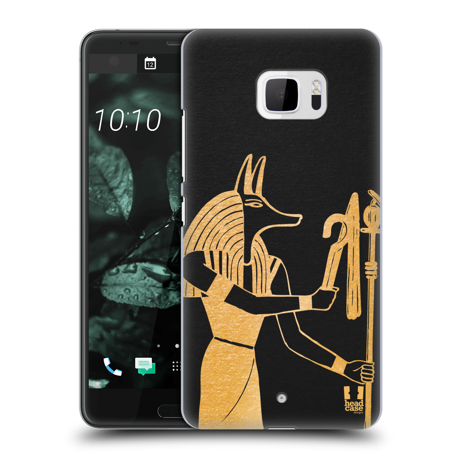 Plastové pouzdro na mobil HTC U Ultra Head Case - EGYPT ANUBIS (Plastový kryt či obal na mobilní telefon HTC U Ultra (99HALT015-00))
