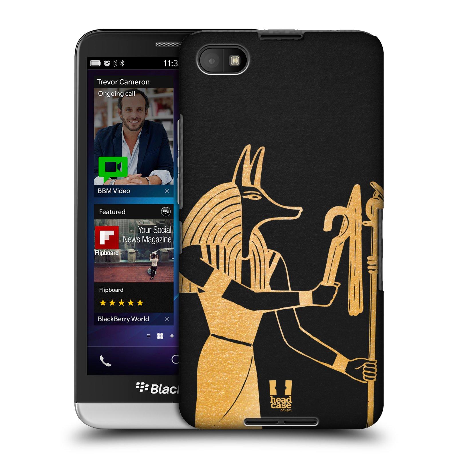 Plastové pouzdro na mobil Blackberry Z30 HEAD CASE EGYPT ANUBIS (Kryt či obal na mobilní telefon Blackberry Z30)