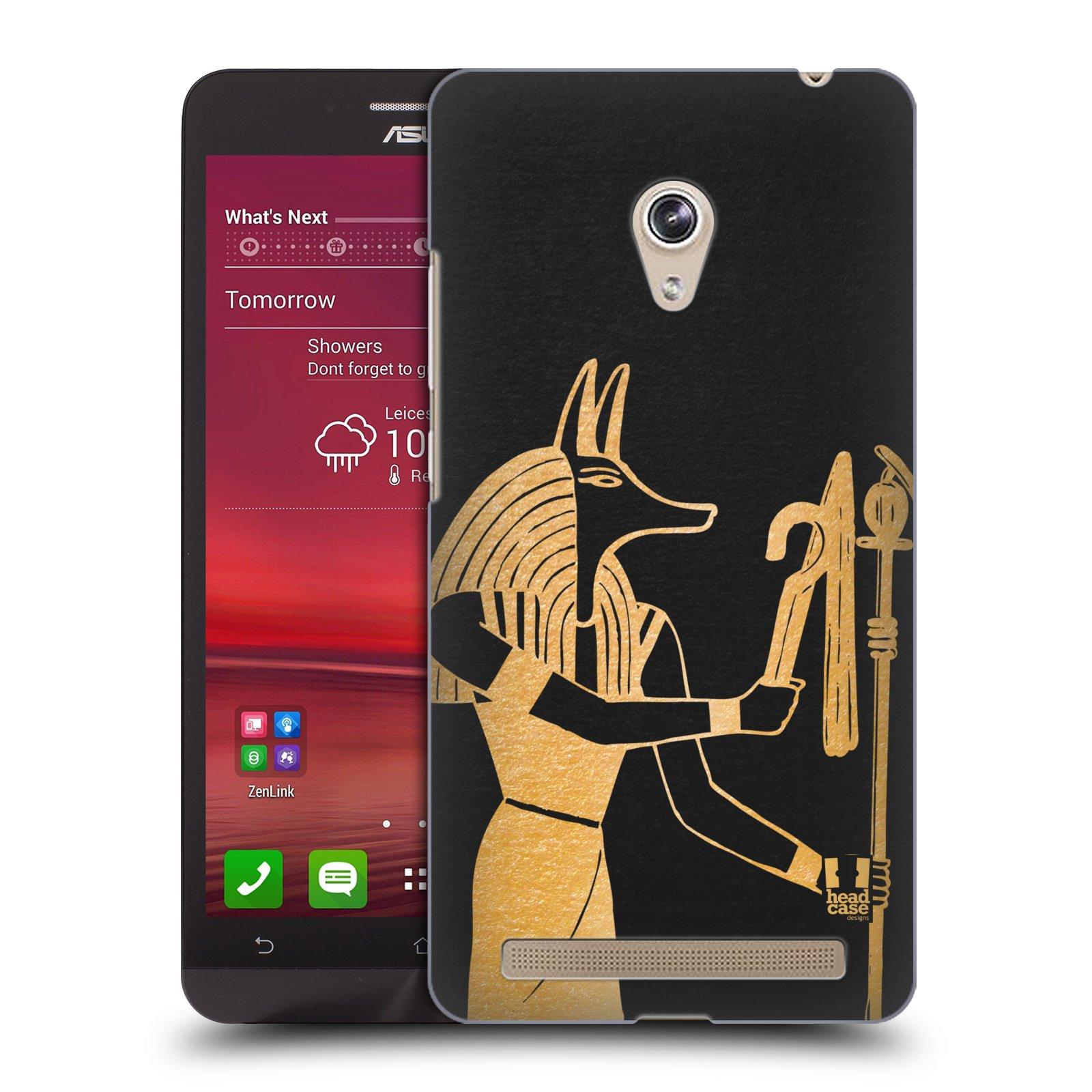 Plastové pouzdro na mobil Asus Zenfone 6 HEAD CASE EGYPT ANUBIS (Kryt či obal na mobilní telefon Asus Zenfone 6 A600CG / A601CG)