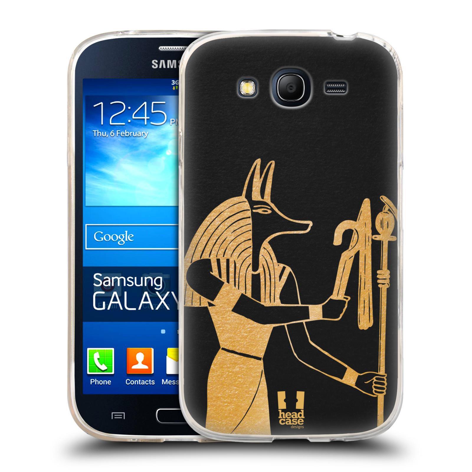 Silikonové pouzdro na mobil Samsung Galaxy Grand Neo Plus HEAD CASE EGYPT ANUBIS (Silikonový kryt či obal na mobilní telefon Samsung Galaxy Grand Neo Plus Duos GT-I9060i)