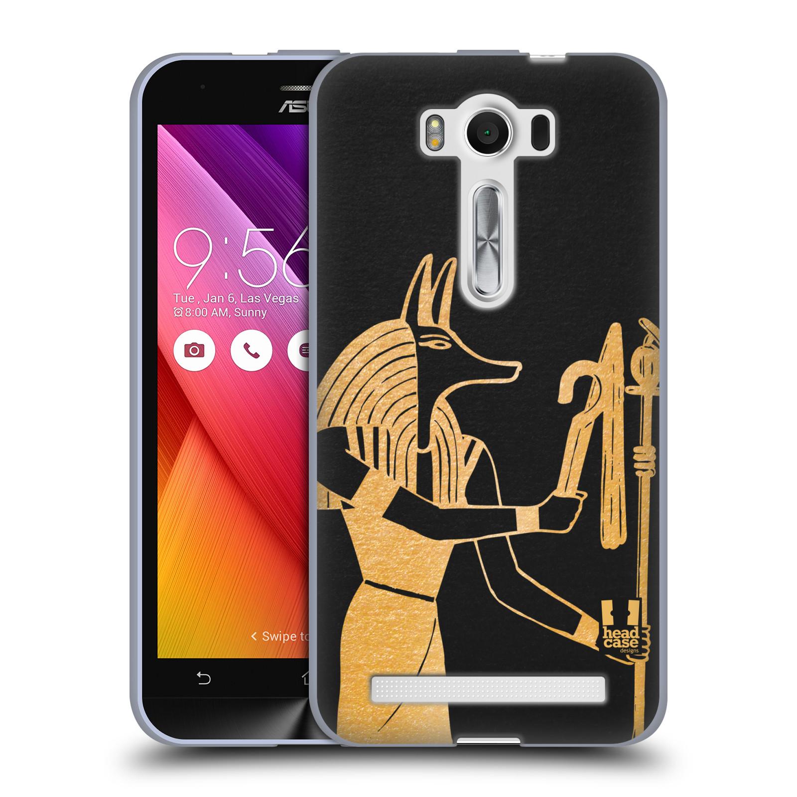 Silikonové pouzdro na mobil Asus ZenFone 2 Laser ZE500KL HEAD CASE EGYPT ANUBIS