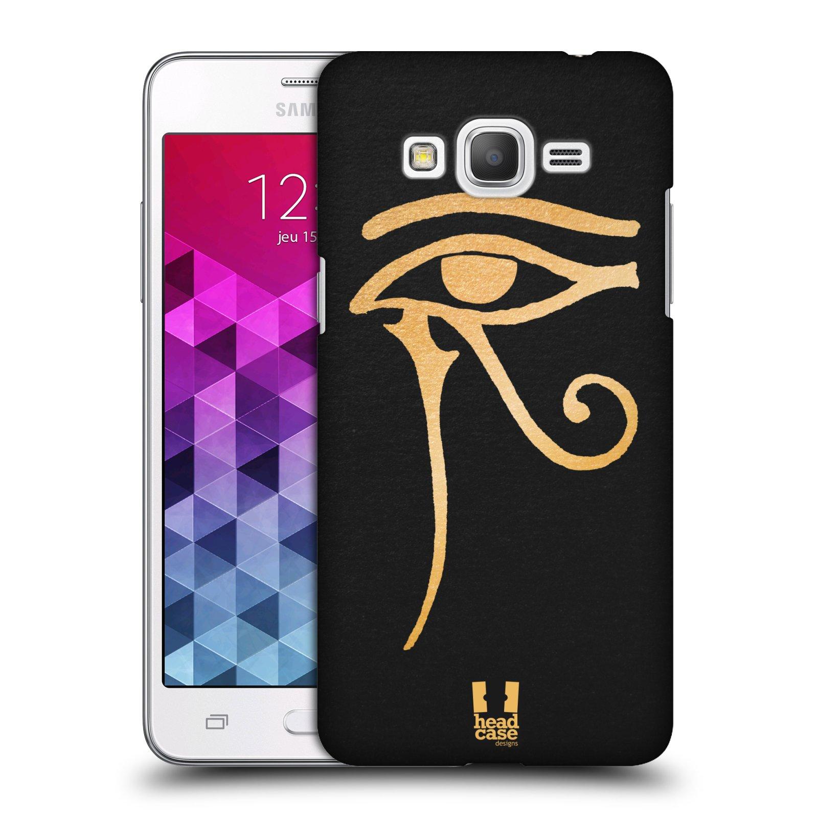 Plastové pouzdro na mobil Samsung Galaxy Grand Prime HEAD CASE EGYPT OKO BOHA RA (Kryt či obal na mobilní telefon Samsung Galaxy Grand Prime SM-G530)