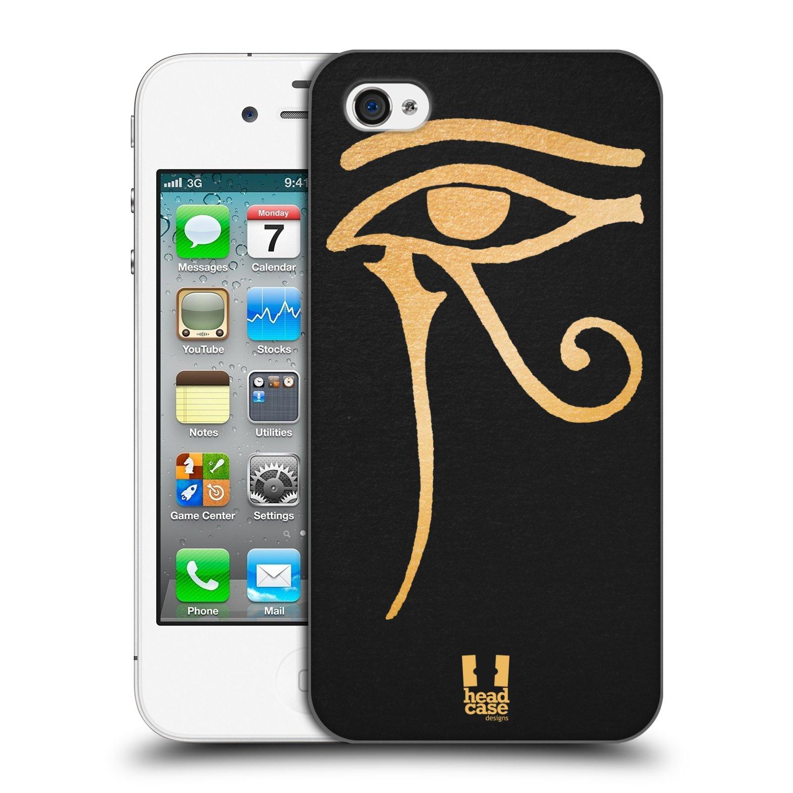Plastové pouzdro na mobil Apple iPhone 4 a 4S HEAD CASE EGYPT OKO BOHA RA ( 88378c1ed45
