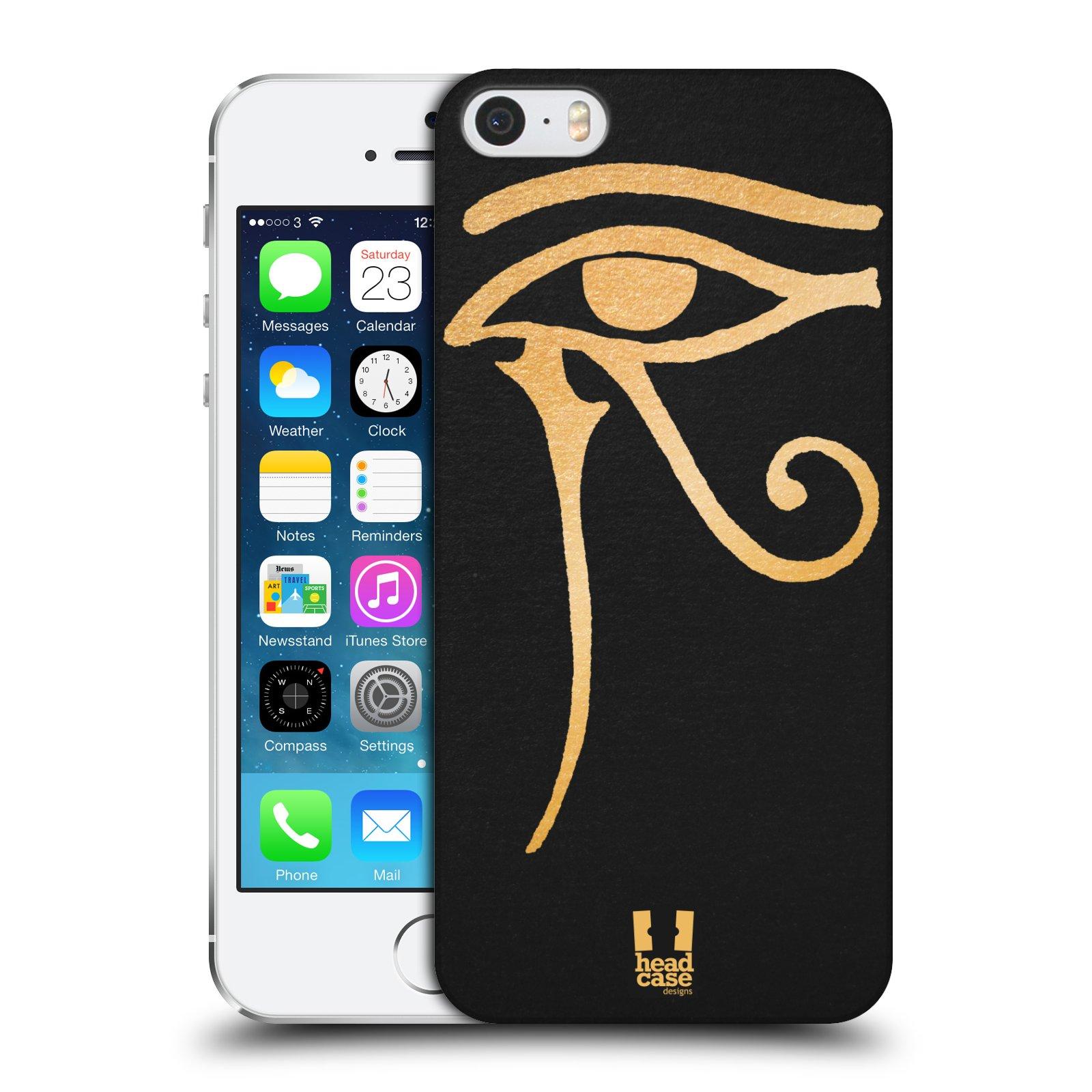 Plastové pouzdro na mobil Apple iPhone SE, 5 a 5S HEAD CASE EGYPT OKO BOHA RA