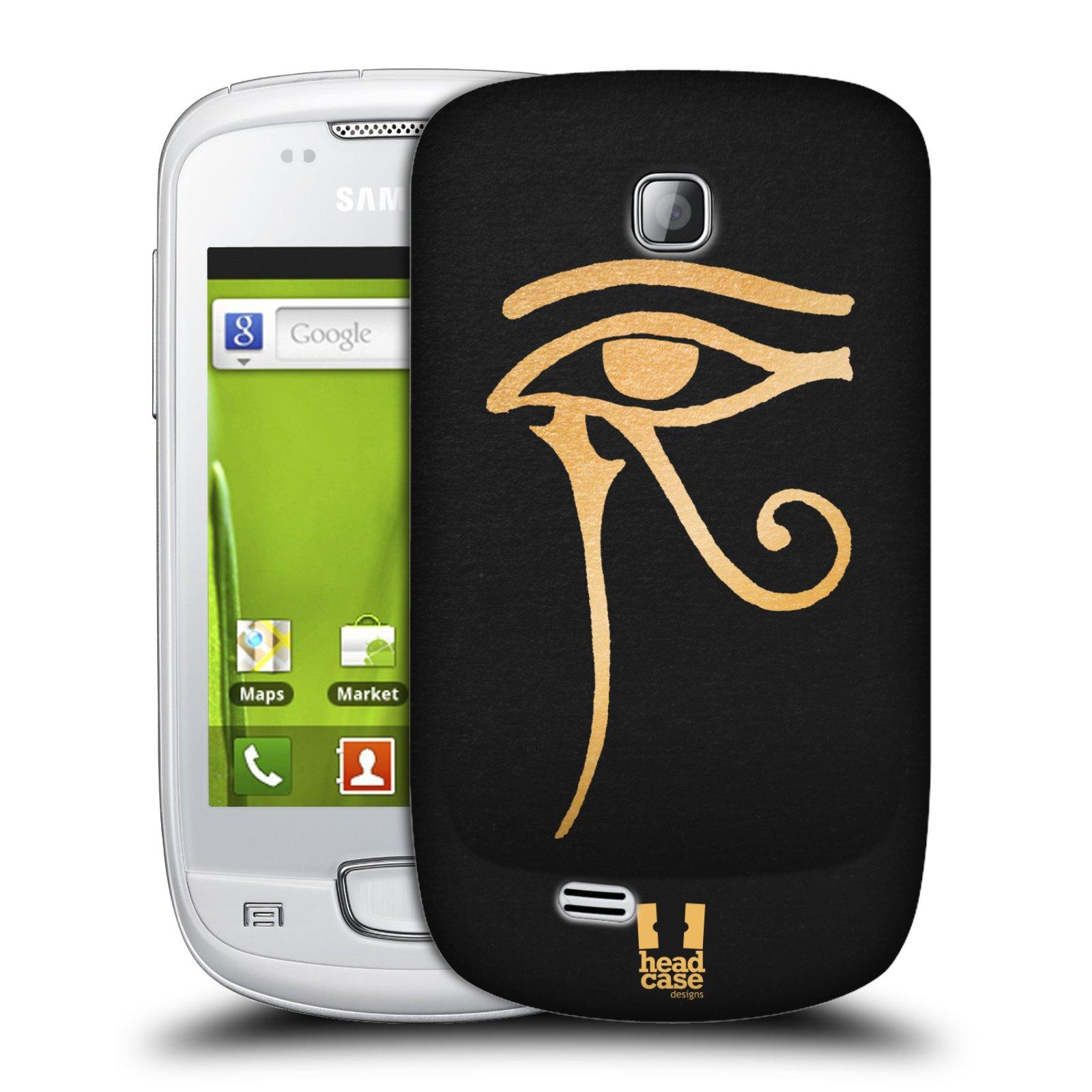 Plastové pouzdro na mobil Samsung Galaxy Mini HEAD CASE EGYPT OKO BOHA RA (Kryt či obal na mobilní telefon Samsung Galaxy Mini GT-S5570 / GT-S5570i)