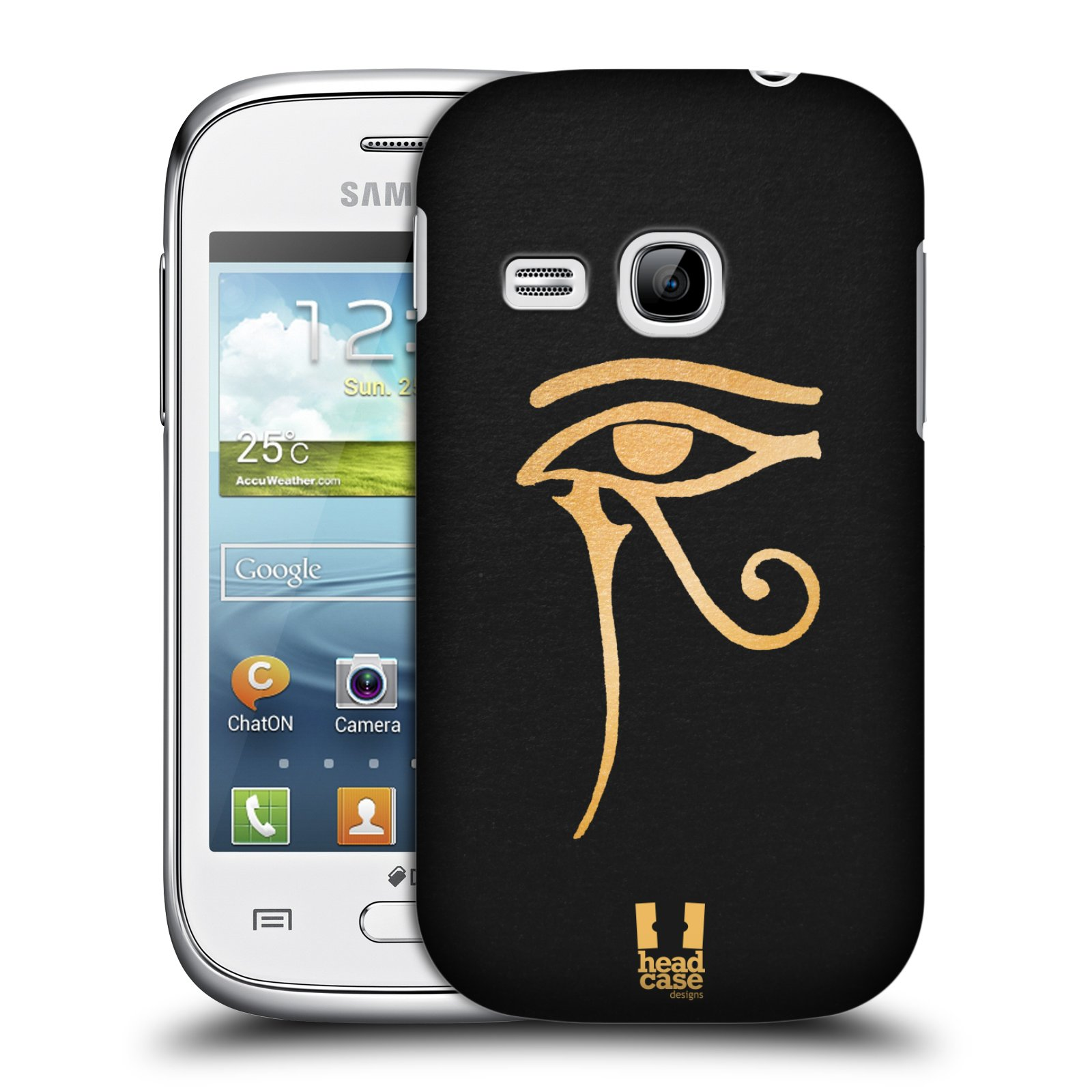 Plastové pouzdro na mobil Samsung Galaxy Young HEAD CASE EGYPT OKO BOHA RA (Kryt či obal na mobilní telefon Samsung Galaxy Young GT-S6310)