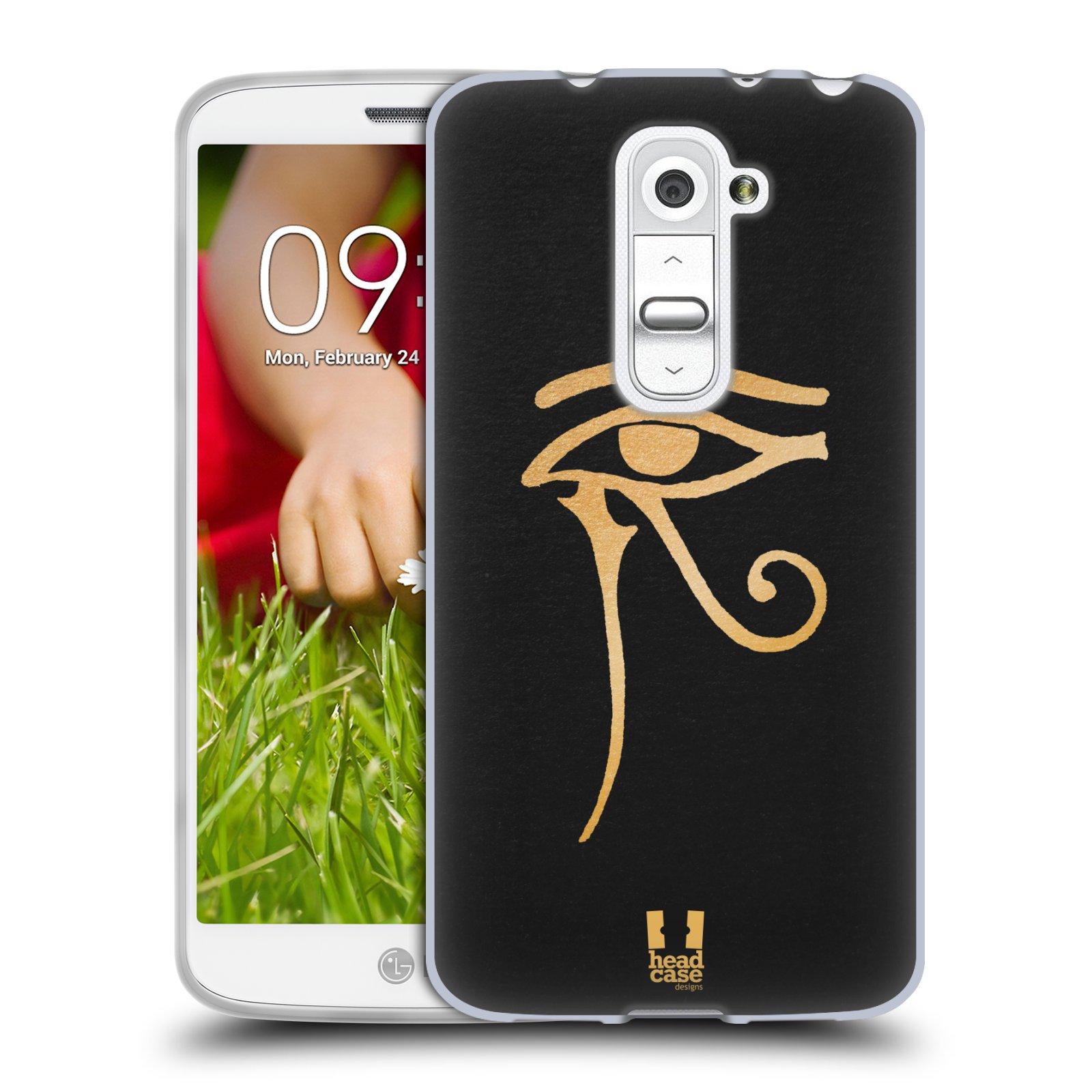 Silikonové pouzdro na mobil LG G2 Mini HEAD CASE EGYPT OKO BOHA RA (Silikonový kryt či obal na mobilní telefon LG G2 Mini D620)