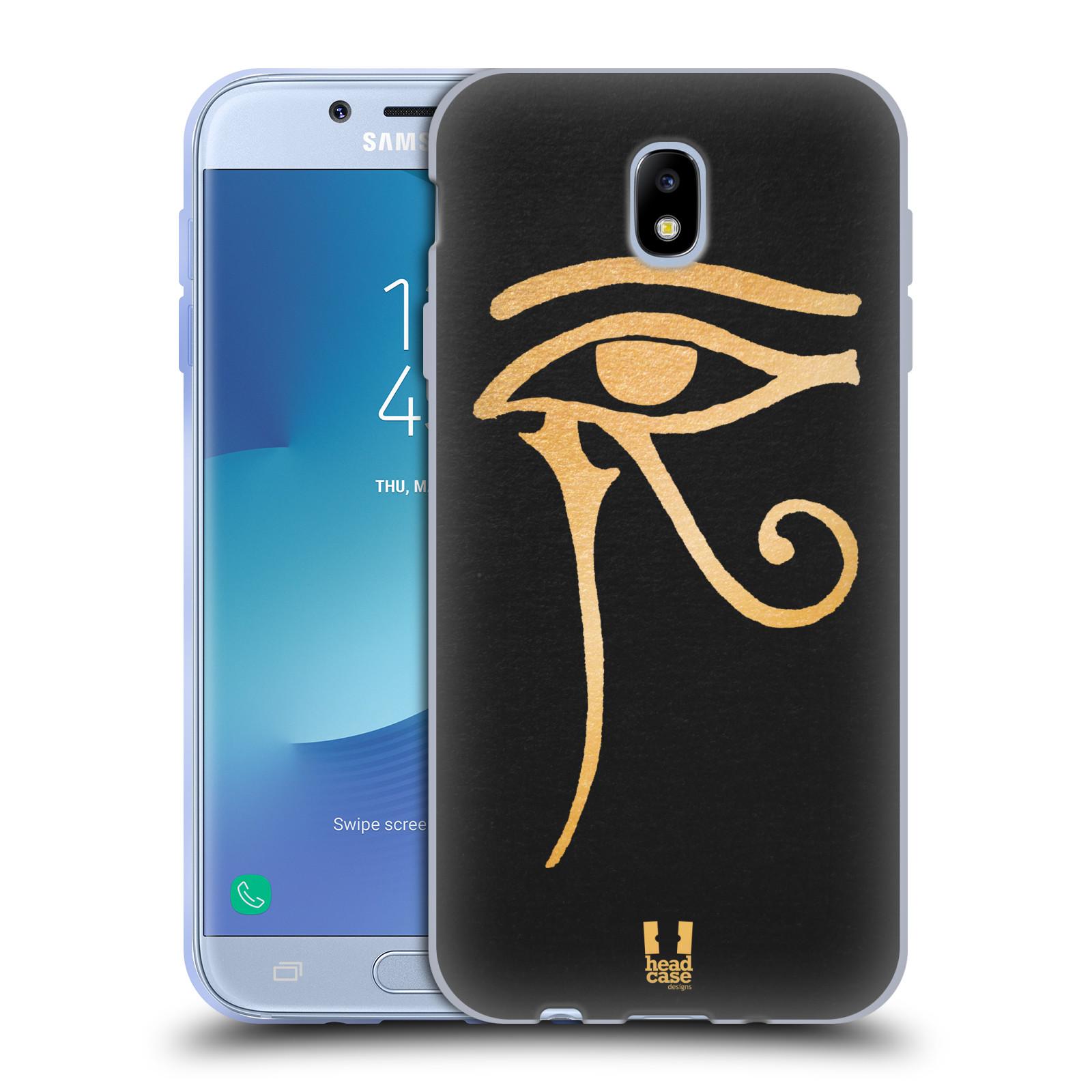 Silikonové pouzdro na mobil Samsung Galaxy J7 (2017) - Head Case - EGYPT OKO BOHA RA