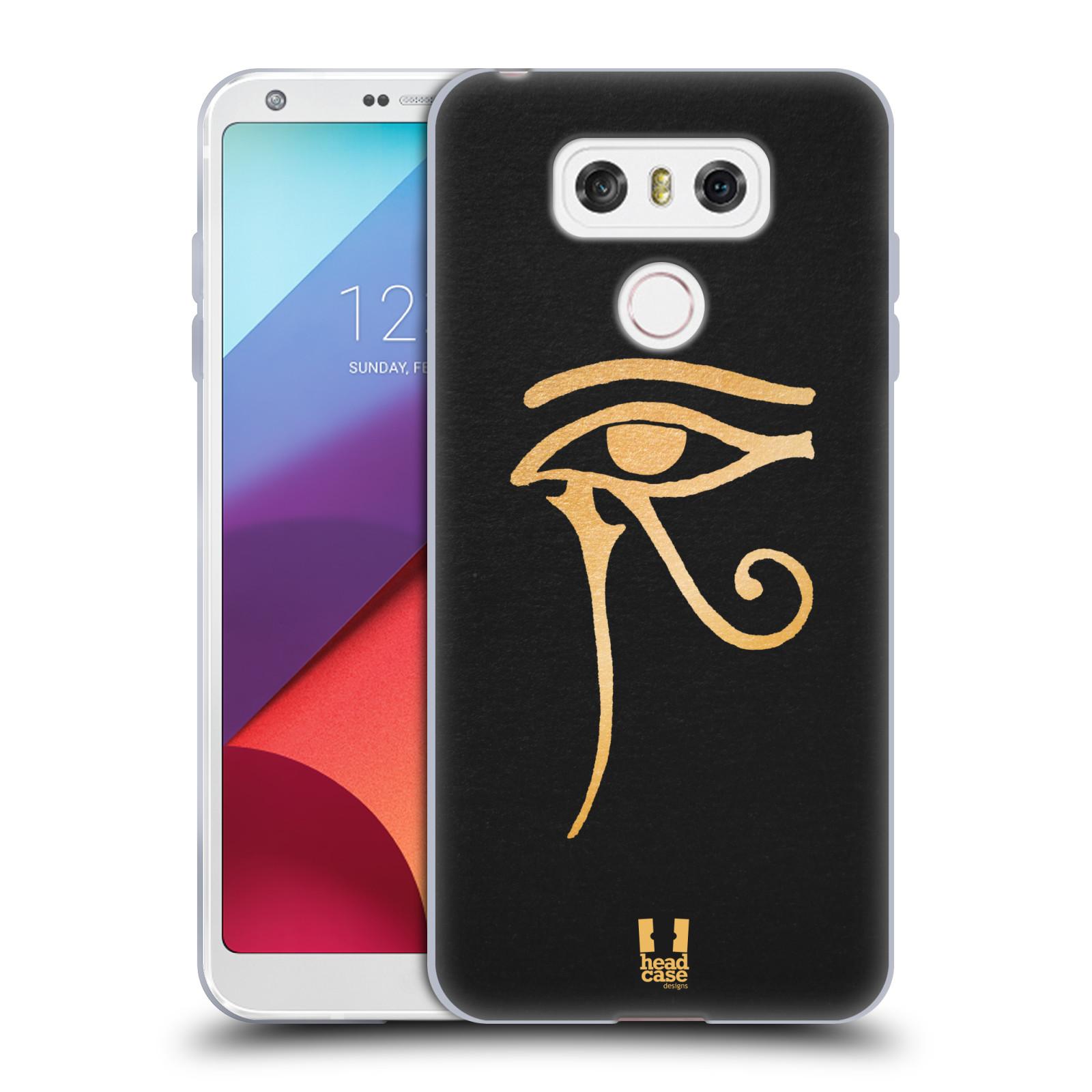 Silikonové pouzdro na mobil LG G6 - Head Case EGYPT OKO BOHA RA (Silikonový kryt či obal na mobilní telefon LG G6 H870 / LG G6 Dual SIM H870DS)