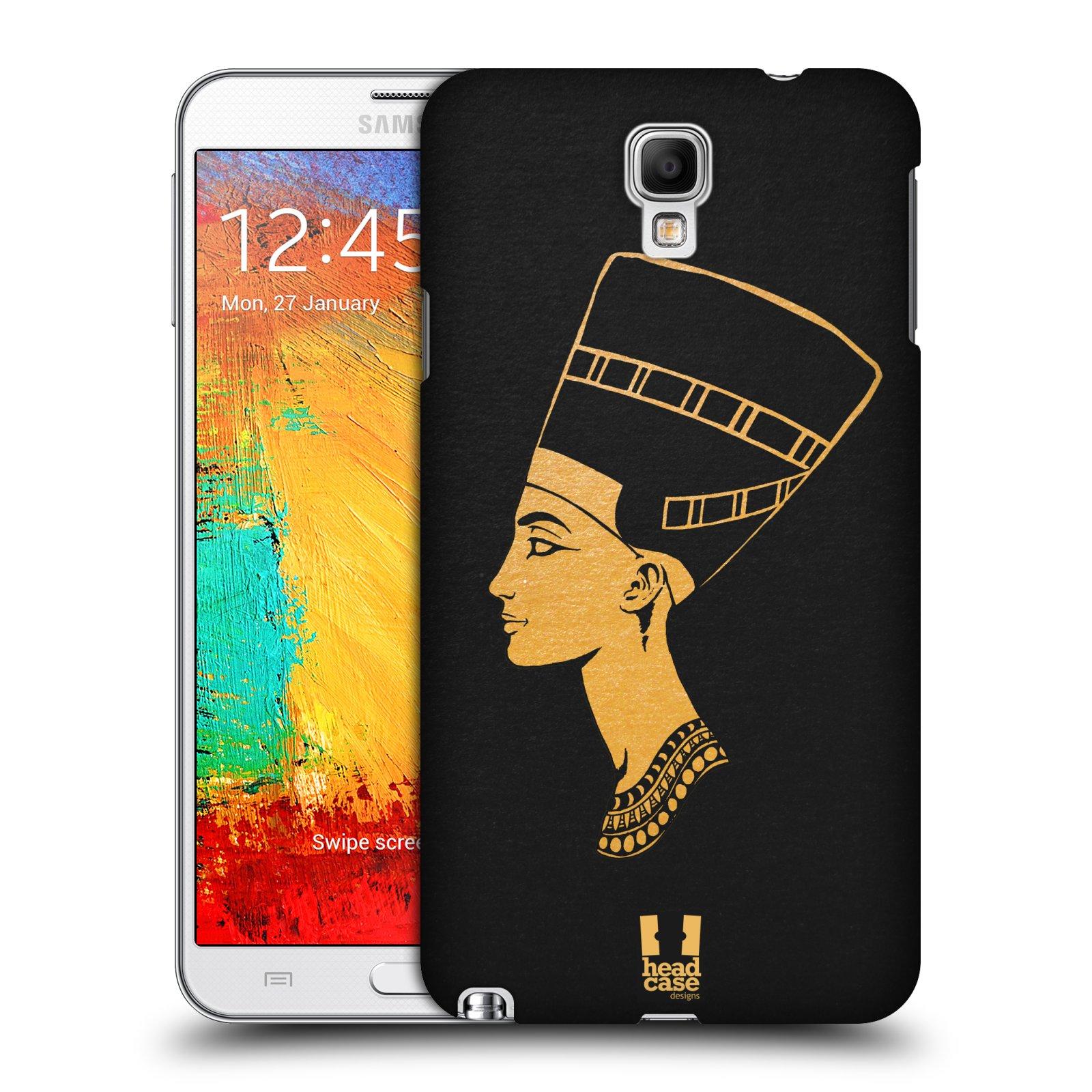 Plastové pouzdro na mobil Samsung Galaxy Note 3 Neo HEAD CASE EGYPT NEFERTITI (Kryt či obal na mobilní telefon Samsung Galaxy Note 3 Neo SM-N7505)