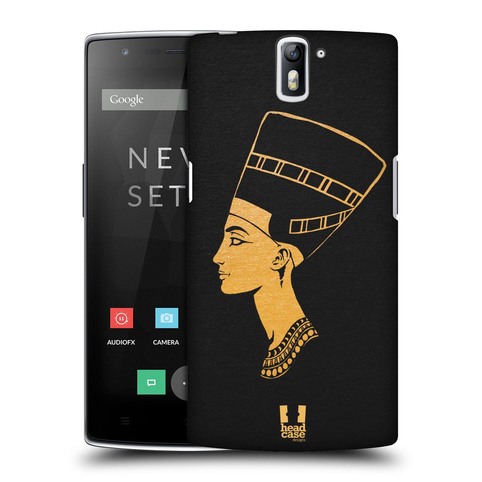 Plastové pouzdro na mobil OnePlus One HEAD CASE EGYPT NEFERTITI (Kryt či obal na mobilní telefon OnePlus One)