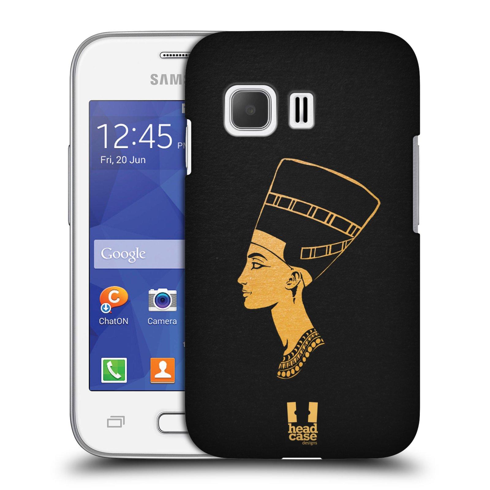 Plastové pouzdro na mobil Samsung Galaxy Young 2 HEAD CASE EGYPT NEFERTITI (Kryt či obal na mobilní telefon Samsung Galaxy Young 2 SM-G130)