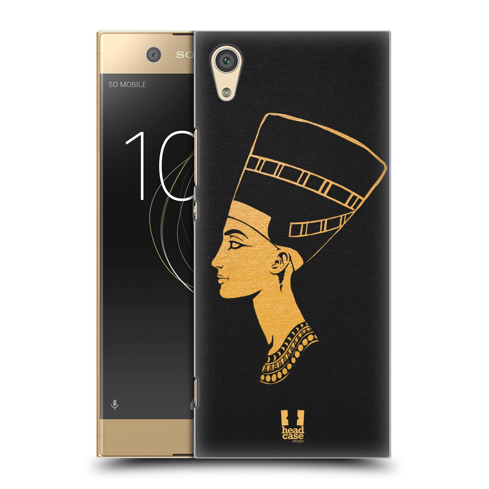 Plastové pouzdro na mobil Sony Xperia XA1 - Head Case - EGYPT NEFERTITI