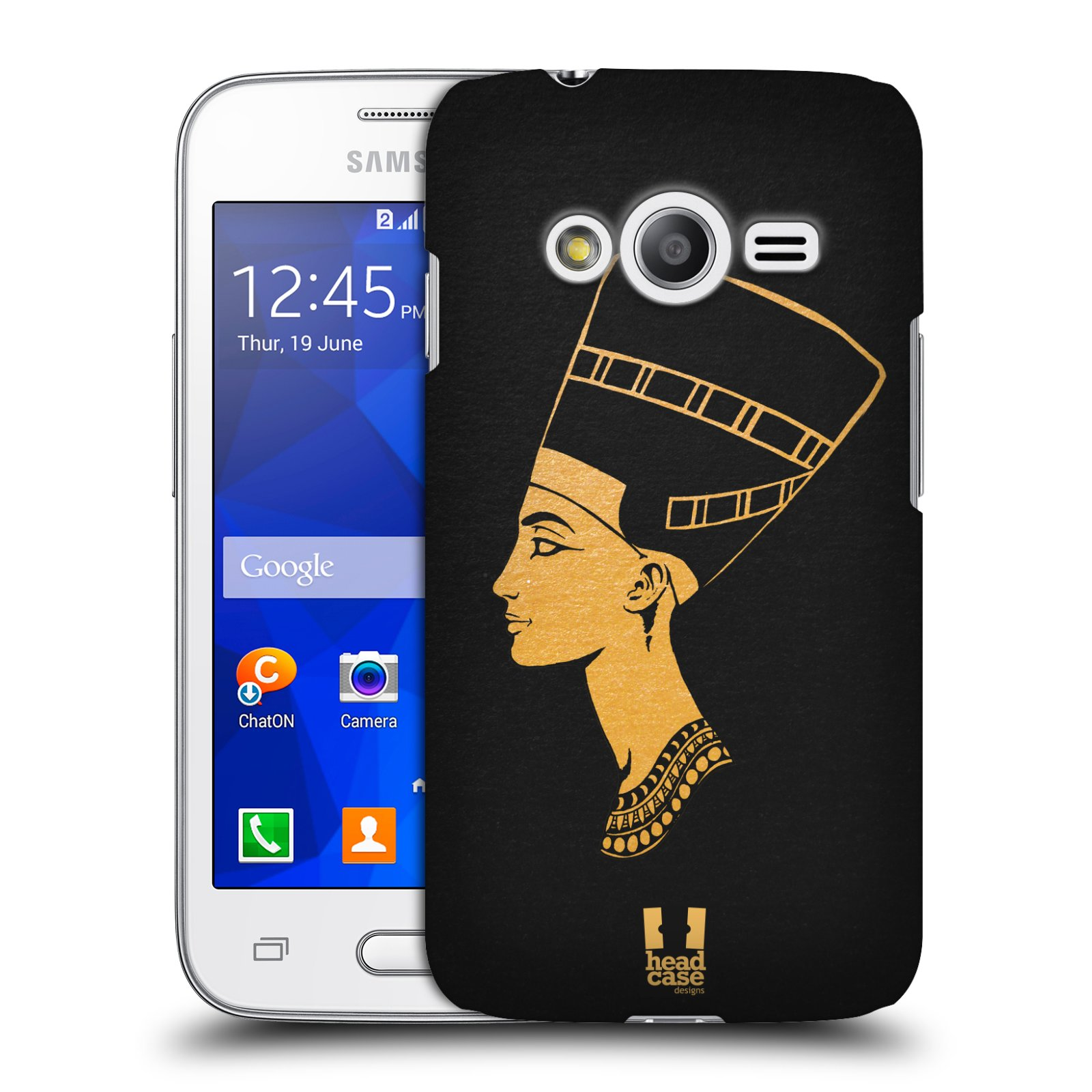 Plastové pouzdro na mobil Samsung Galaxy Trend 2 Lite HEAD CASE EGYPT NEFERTITI (Kryt či obal na mobilní telefon Samsung Galaxy Trend 2 Lite SM-G318)