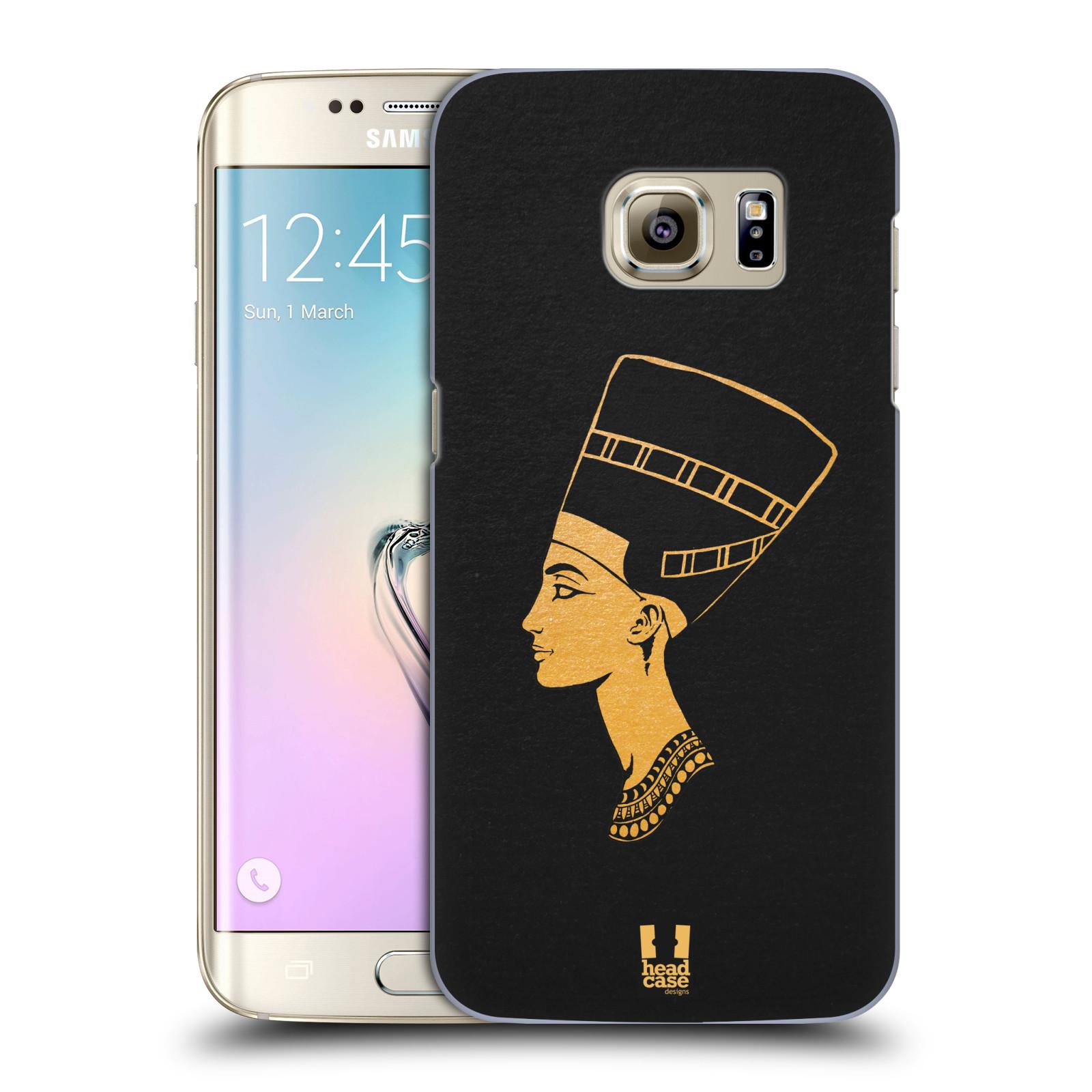 Plastové pouzdro na mobil Samsung Galaxy S7 Edge HEAD CASE EGYPT NEFERTITI (Kryt či obal na mobilní telefon Samsung Galaxy S7 Edge SM-G935F)