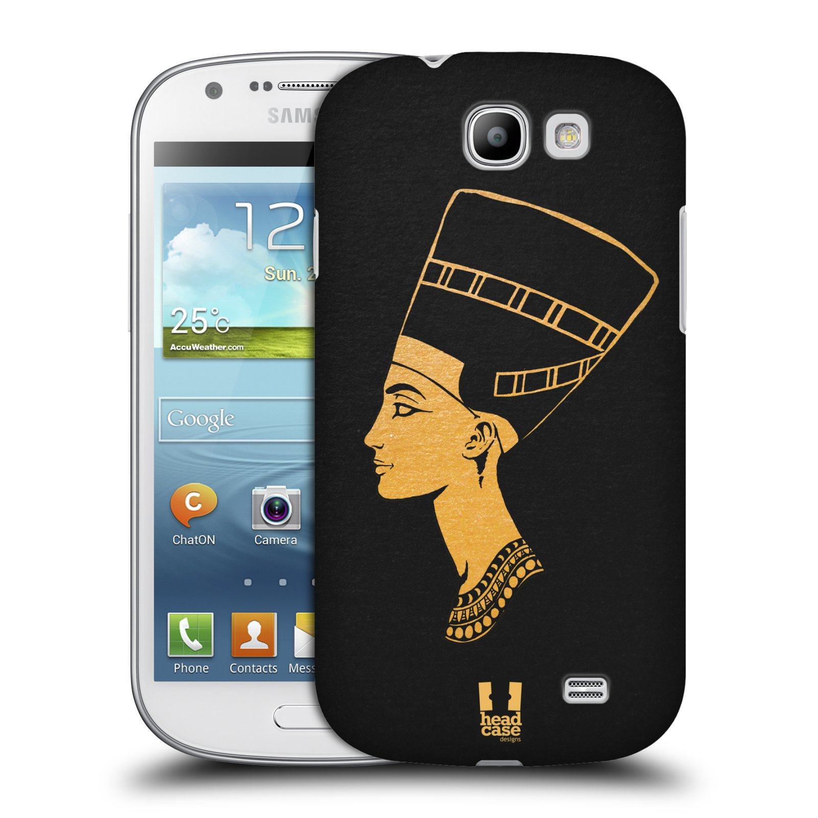 Plastové pouzdro na mobil Samsung Galaxy Express HEAD CASE EGYPT NEFERTITI (Kryt či obal na mobilní telefon Samsung Galaxy Express GT-i8730)