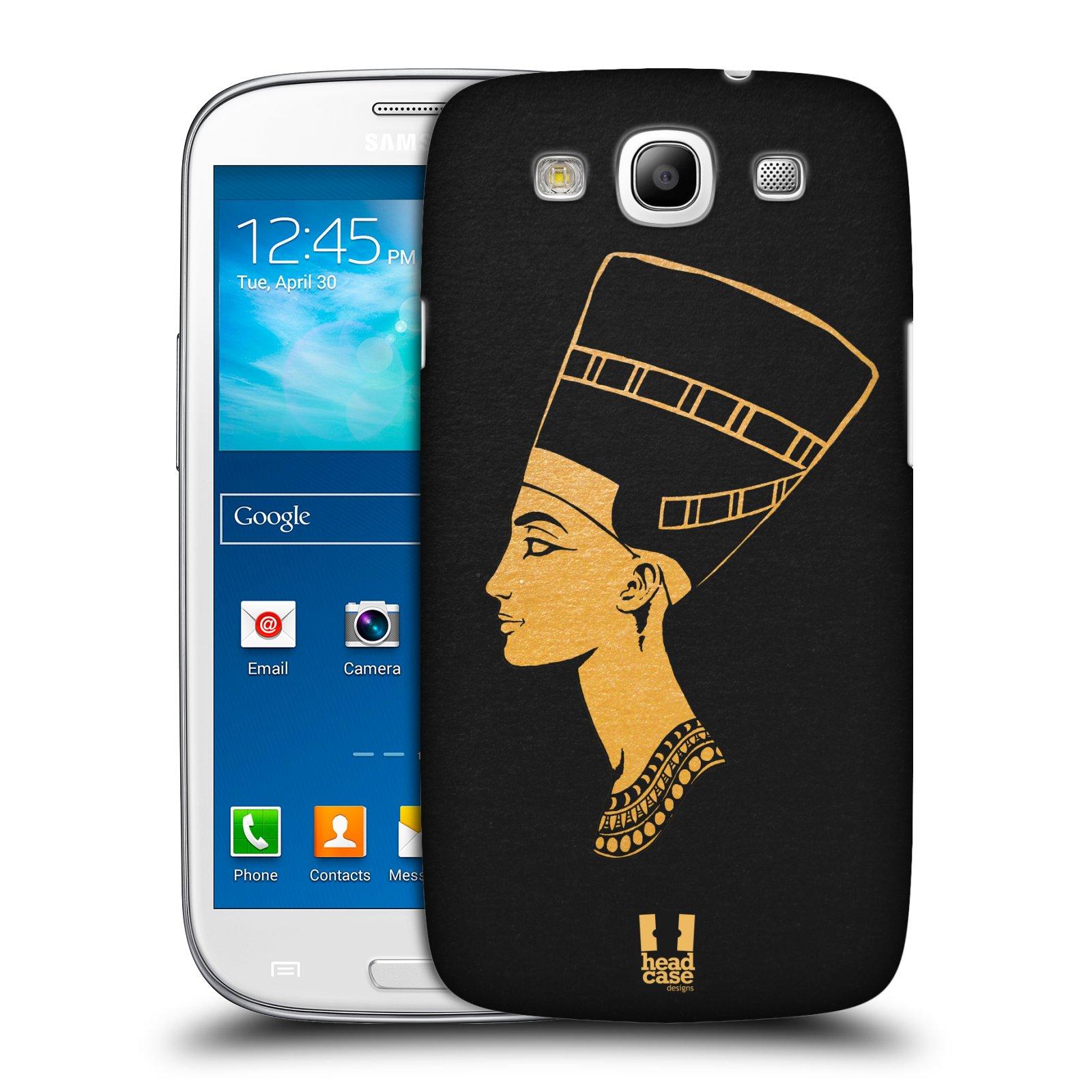 Plastové pouzdro na mobil Samsung Galaxy S3 Neo HEAD CASE EGYPT NEFERTITI