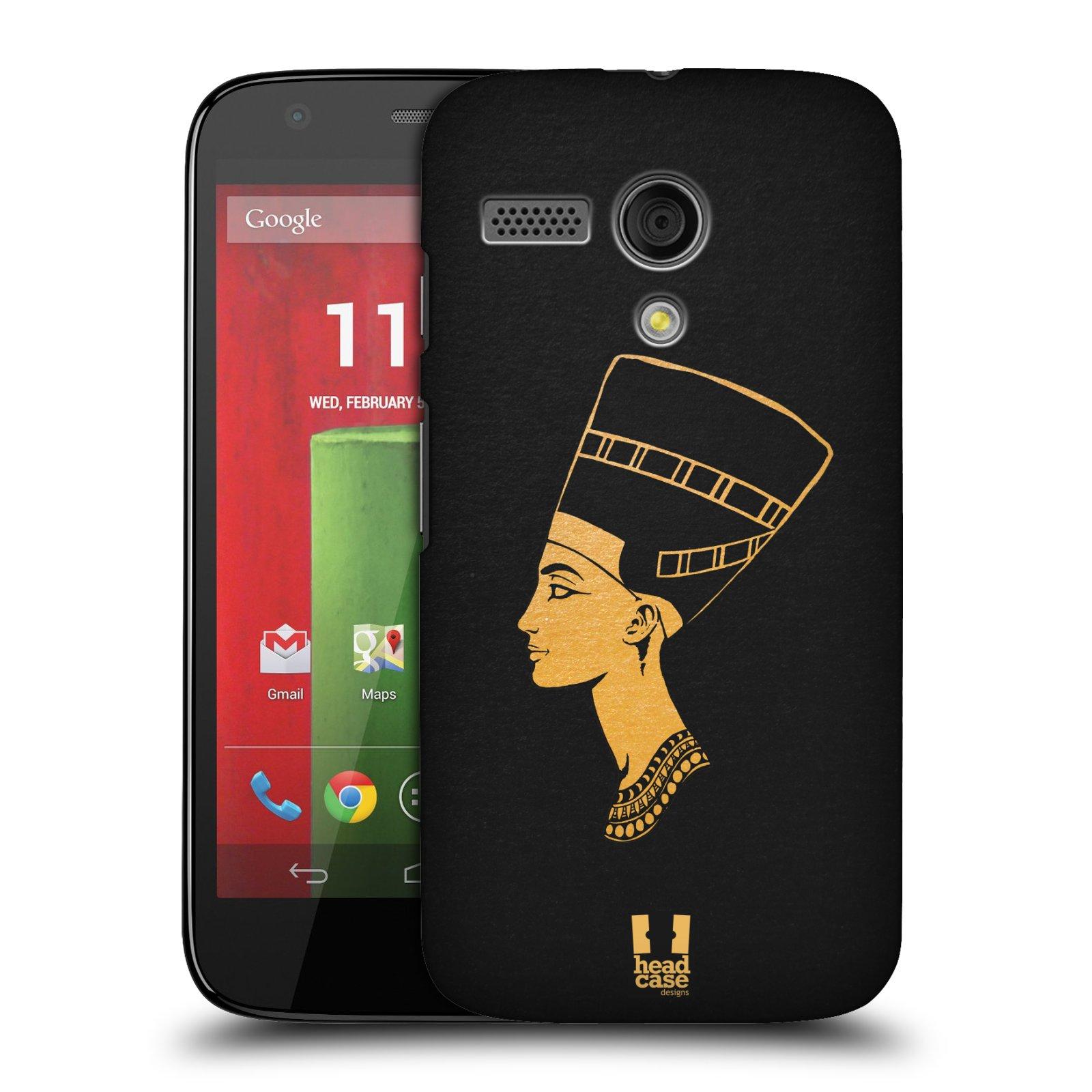 Plastové pouzdro na mobil Motorola Moto G HEAD CASE EGYPT NEFERTITI (Kryt či obal na mobilní telefon Motorola Moto G)