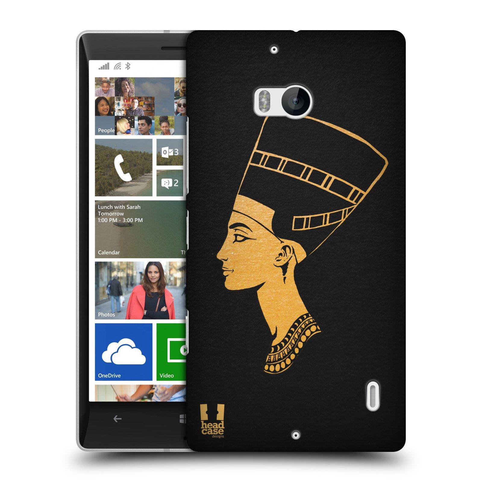 Plastové pouzdro na mobil Nokia Lumia 930 HEAD CASE EGYPT NEFERTITI (Kryt či obal na mobilní telefon Nokia Lumia 930)
