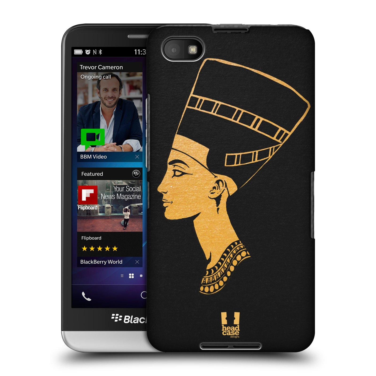 Plastové pouzdro na mobil Blackberry Z30 HEAD CASE EGYPT NEFERTITI (Kryt či obal na mobilní telefon Blackberry Z30)