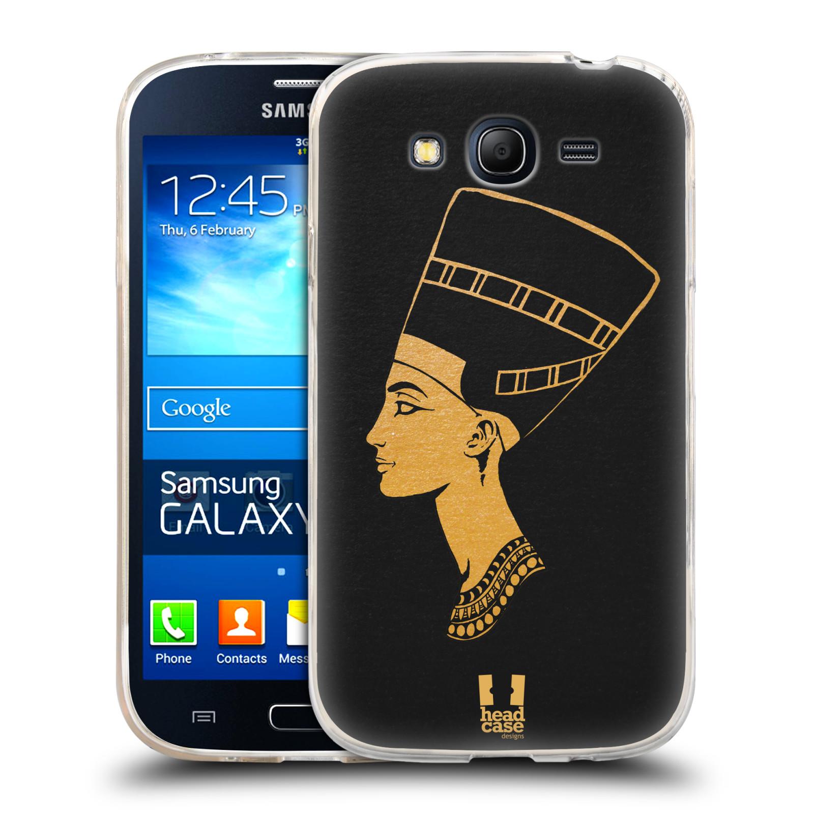 Silikonové pouzdro na mobil Samsung Galaxy Grand Neo Plus HEAD CASE EGYPT NEFERTITI (Silikonový kryt či obal na mobilní telefon Samsung Galaxy Grand Neo Plus Duos GT-I9060i)