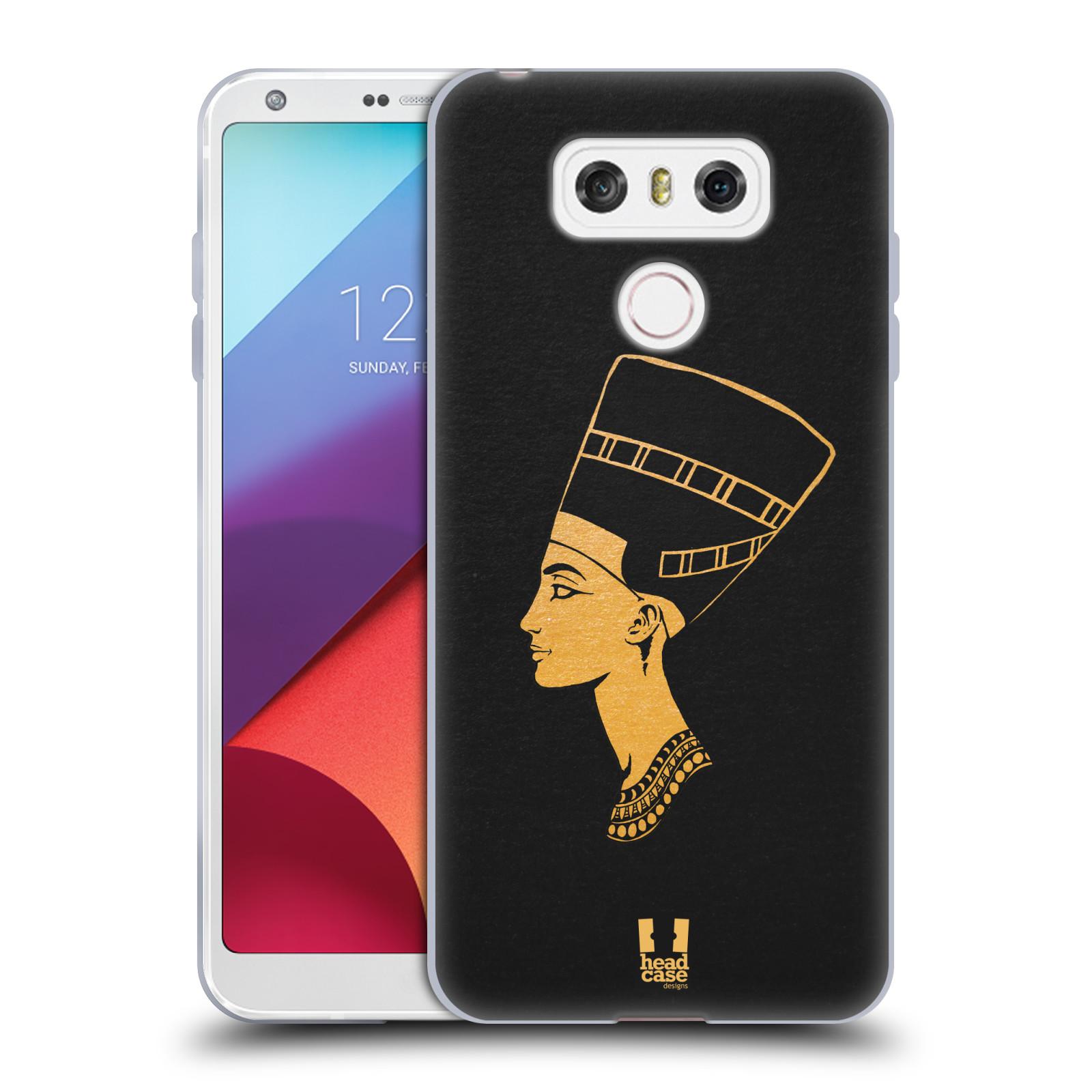 Silikonové pouzdro na mobil LG G6 - Head Case EGYPT NEFERTITI (Silikonový kryt či obal na mobilní telefon LG G6 H870 / LG G6 Dual SIM H870DS)