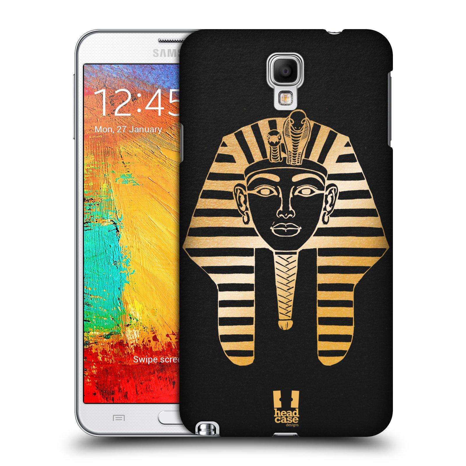 Plastové pouzdro na mobil Samsung Galaxy Note 3 Neo HEAD CASE EGYPT FARAON (Kryt či obal na mobilní telefon Samsung Galaxy Note 3 Neo SM-N7505)