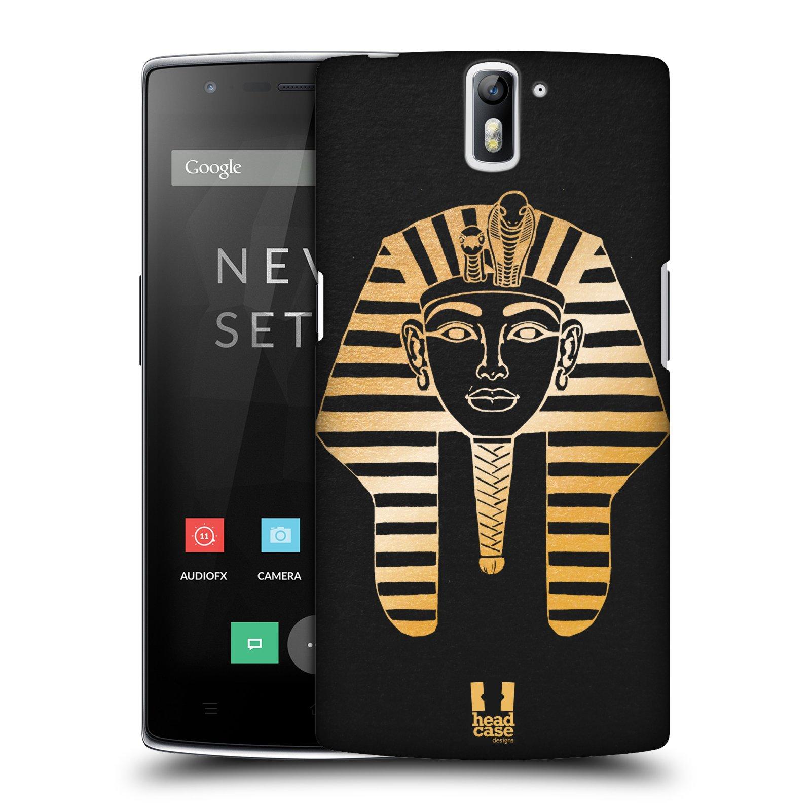 Plastové pouzdro na mobil OnePlus One HEAD CASE EGYPT FARAON (Kryt či obal na mobilní telefon OnePlus One)