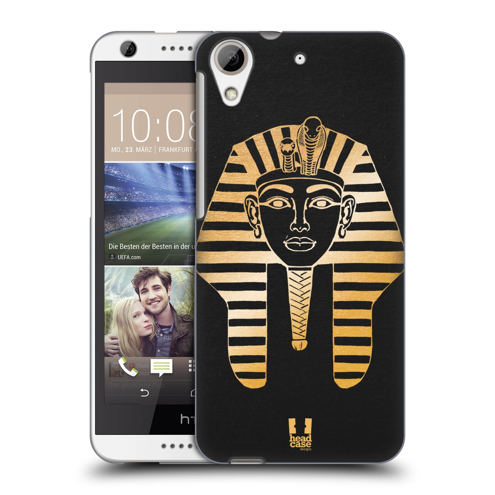 Plastové pouzdro na mobil HTC Desire 626 / 626G HEAD CASE EGYPT FARAON (Kryt či obal na mobilní telefon HTC Desire 626G Dual SIM a HTC Desire 626)