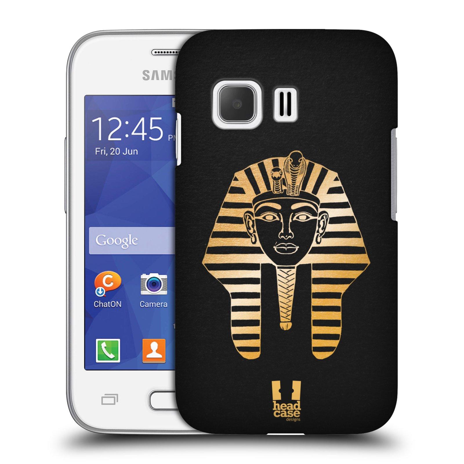 Plastové pouzdro na mobil Samsung Galaxy Young 2 HEAD CASE EGYPT FARAON (Kryt či obal na mobilní telefon Samsung Galaxy Young 2 SM-G130)