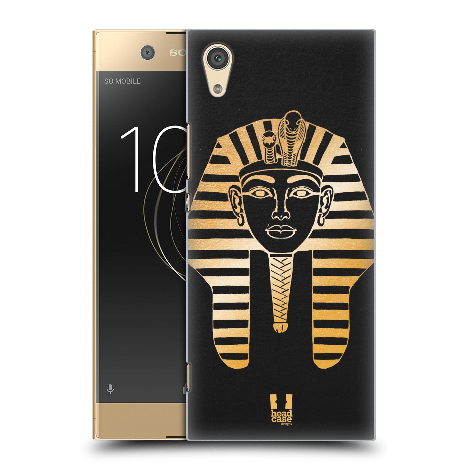 Plastové pouzdro na mobil Sony Xperia XA1 - Head Case - EGYPT FARAON (Plastový kryt či obal na mobilní telefon Sony Xperia XA1 G3121 s motivem EGYPT FARAON)