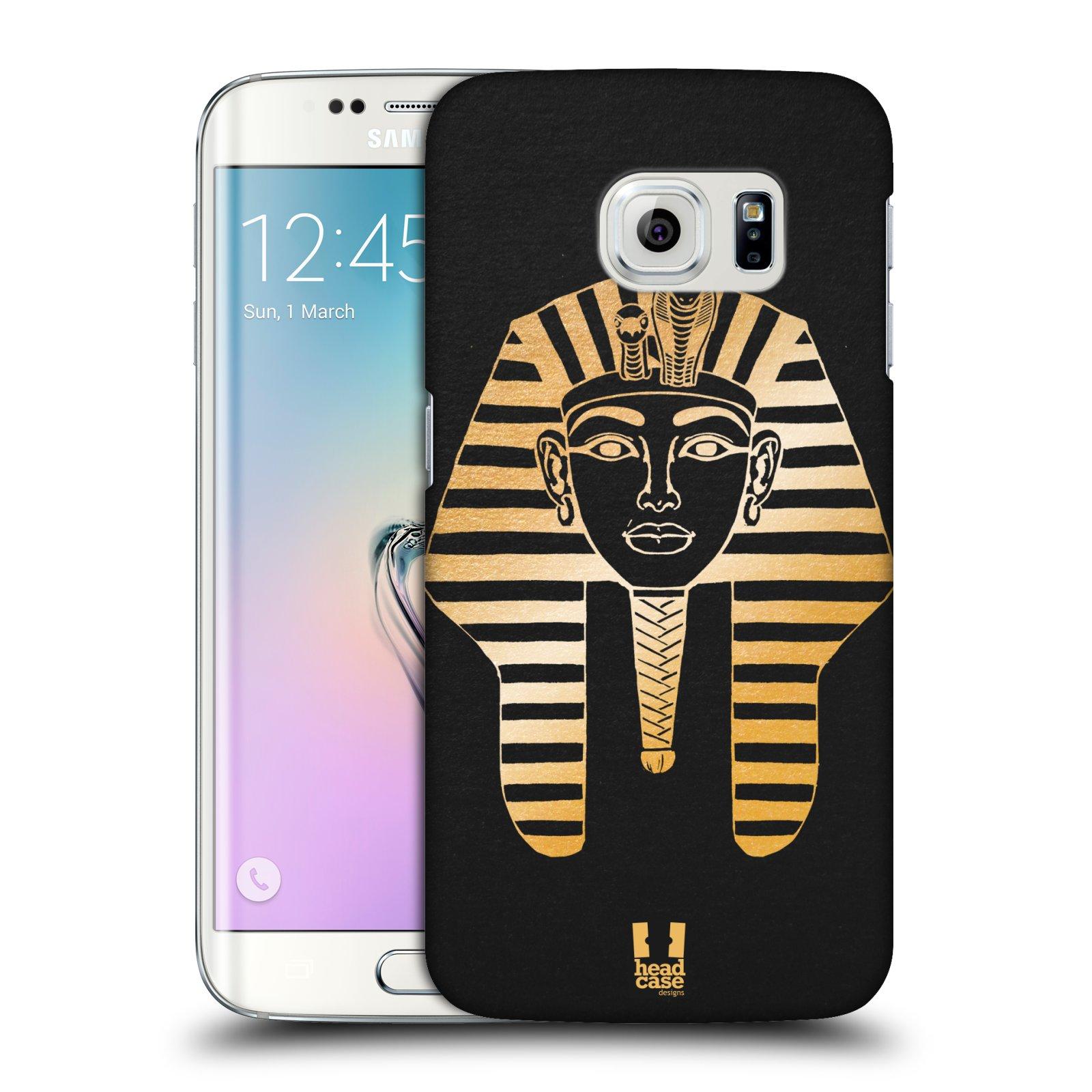 Plastové pouzdro na mobil Samsung Galaxy S6 Edge HEAD CASE EGYPT FARAON (Kryt či obal na mobilní telefon Samsung Galaxy S6 Edge SM-G925F)