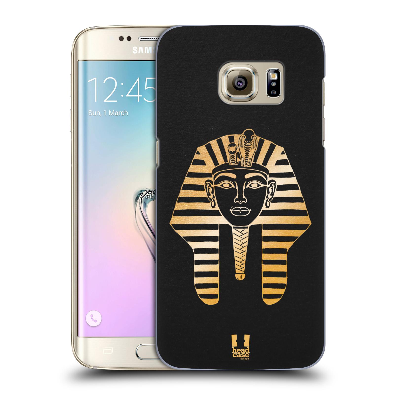 Plastové pouzdro na mobil Samsung Galaxy S7 Edge HEAD CASE EGYPT FARAON (Kryt či obal na mobilní telefon Samsung Galaxy S7 Edge SM-G935F)
