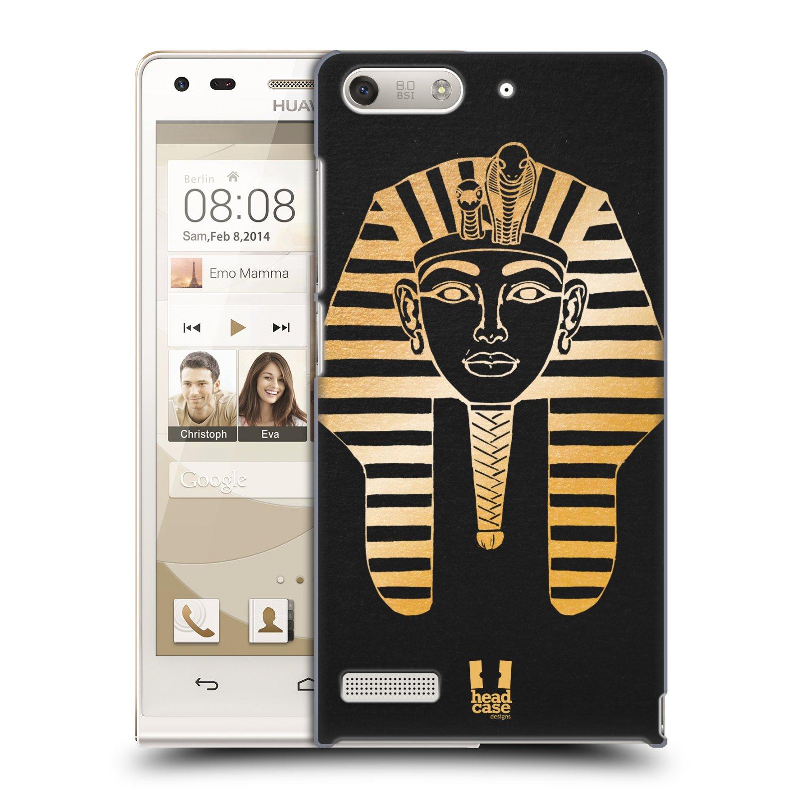 Plastové pouzdro na mobil Huawei Ascend G6 HEAD CASE EGYPT FARAON (Kryt či obal na mobilní telefon Huawei Ascend G6 bez LTE)