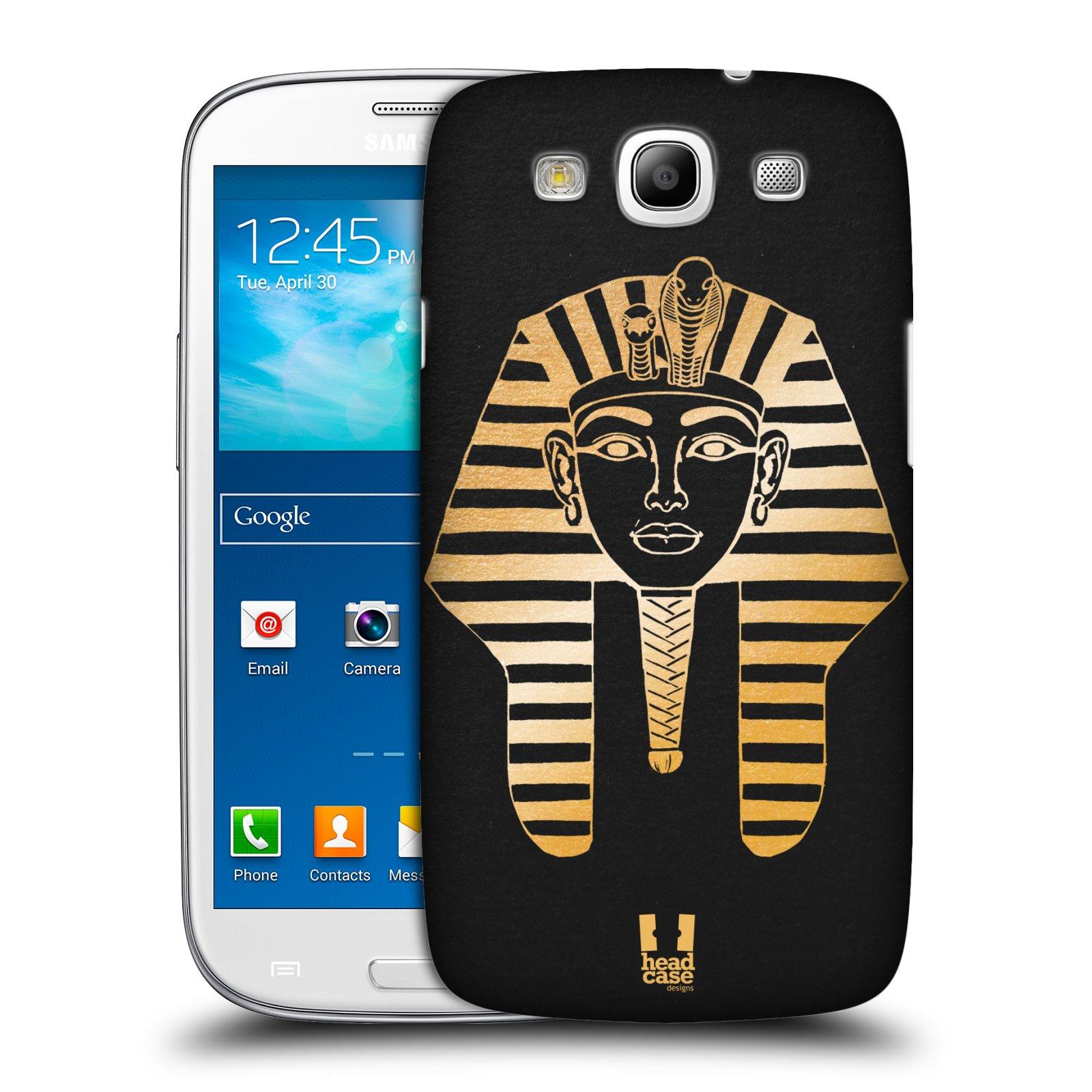 Plastové pouzdro na mobil Samsung Galaxy S3 Neo HEAD CASE EGYPT FARAON