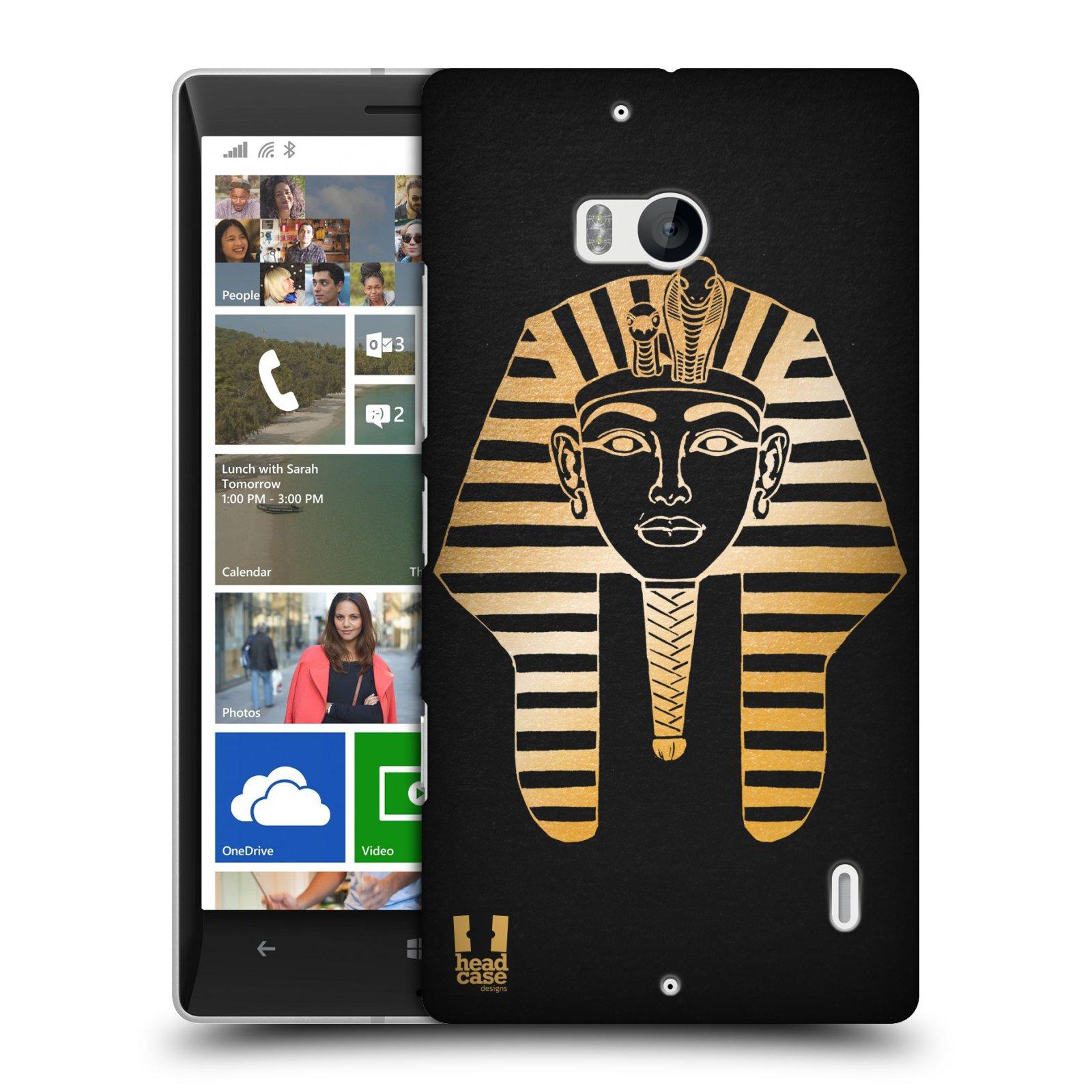Plastové pouzdro na mobil Nokia Lumia 930 HEAD CASE EGYPT FARAON (Kryt či obal na mobilní telefon Nokia Lumia 930)