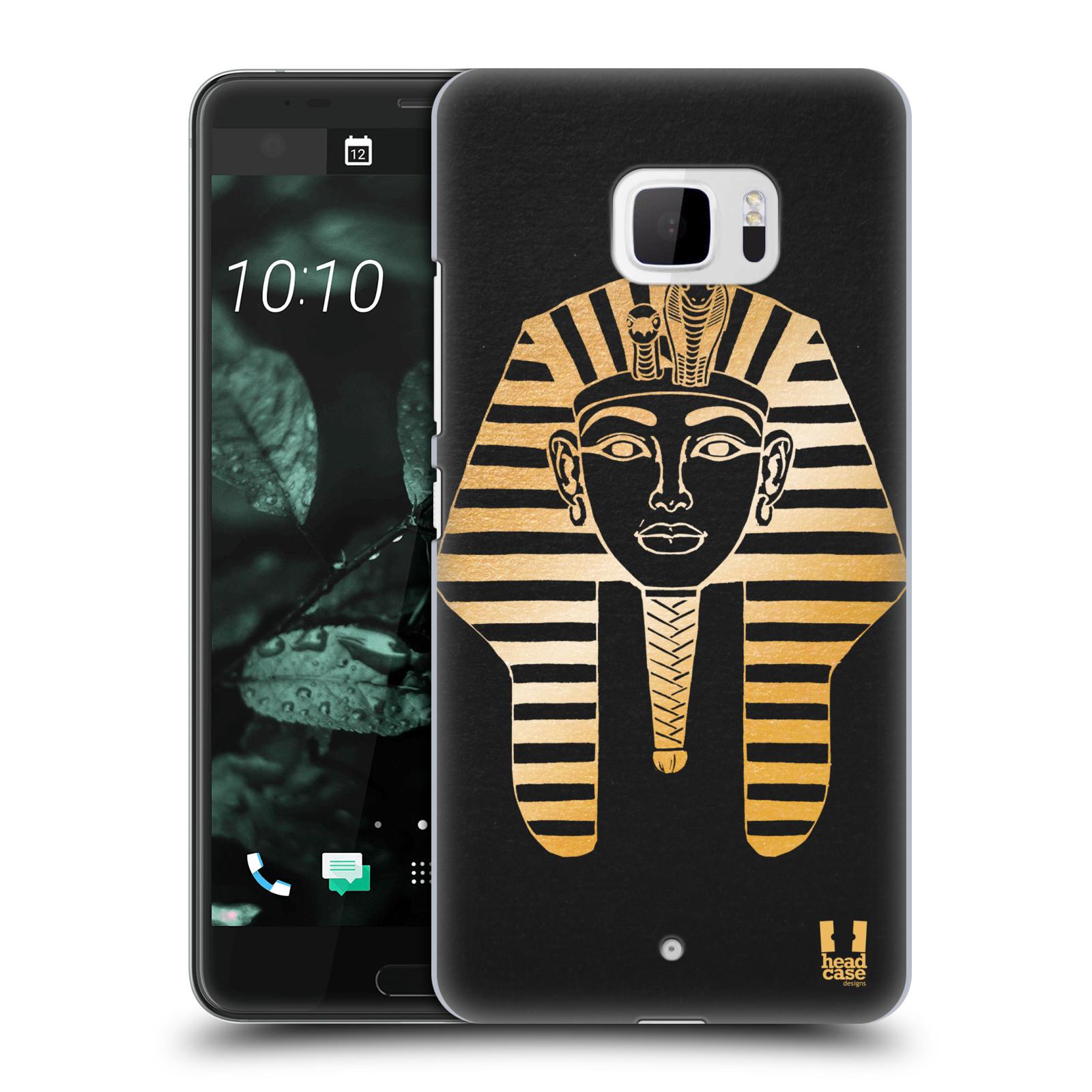 Plastové pouzdro na mobil HTC U Ultra Head Case - EGYPT FARAON (Plastový kryt či obal na mobilní telefon HTC U Ultra (99HALT015-00))