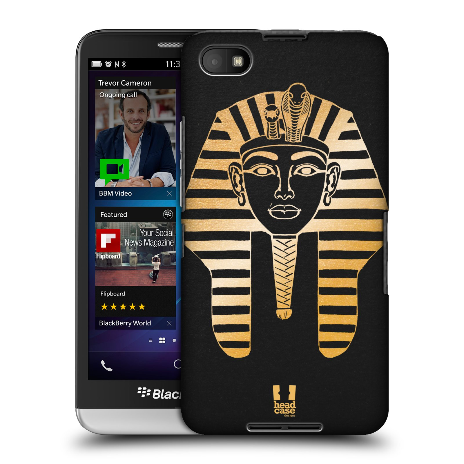 Plastové pouzdro na mobil Blackberry Z30 HEAD CASE EGYPT FARAON (Kryt či obal na mobilní telefon Blackberry Z30)